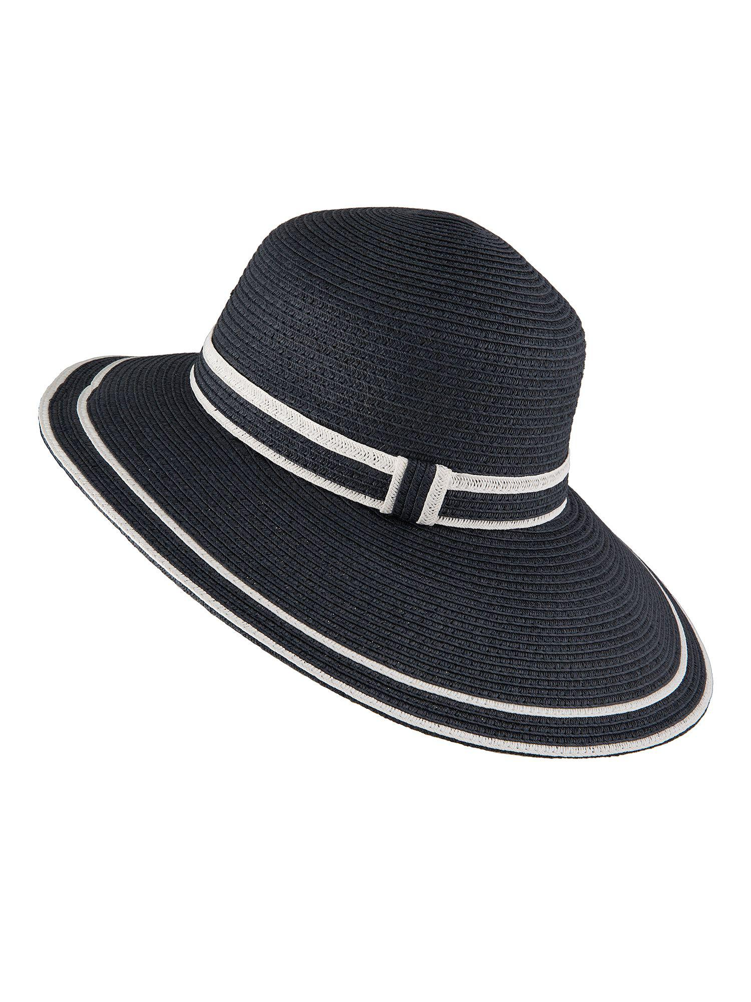 4dc48d53482 Dents Paper Straw Hat in Blue - Lyst