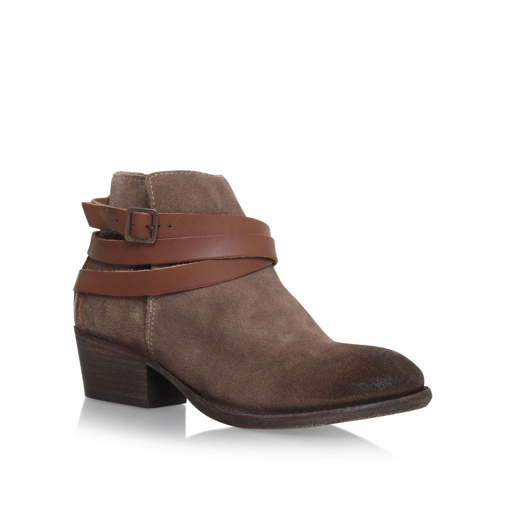 h by hudson horrigan low block heel ankle boots in