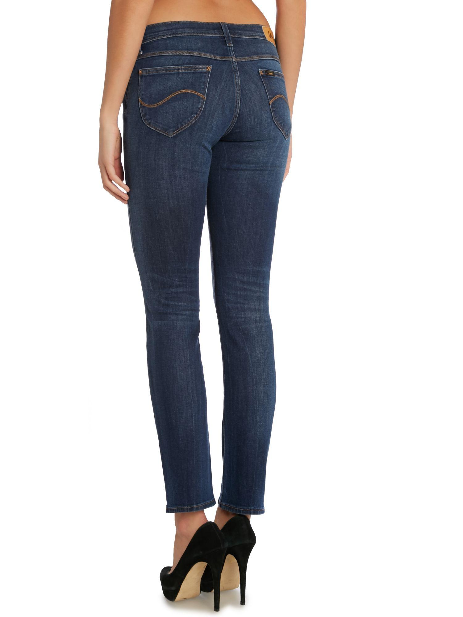 Lee Jeans Denim Jade Slim Jean in Blue