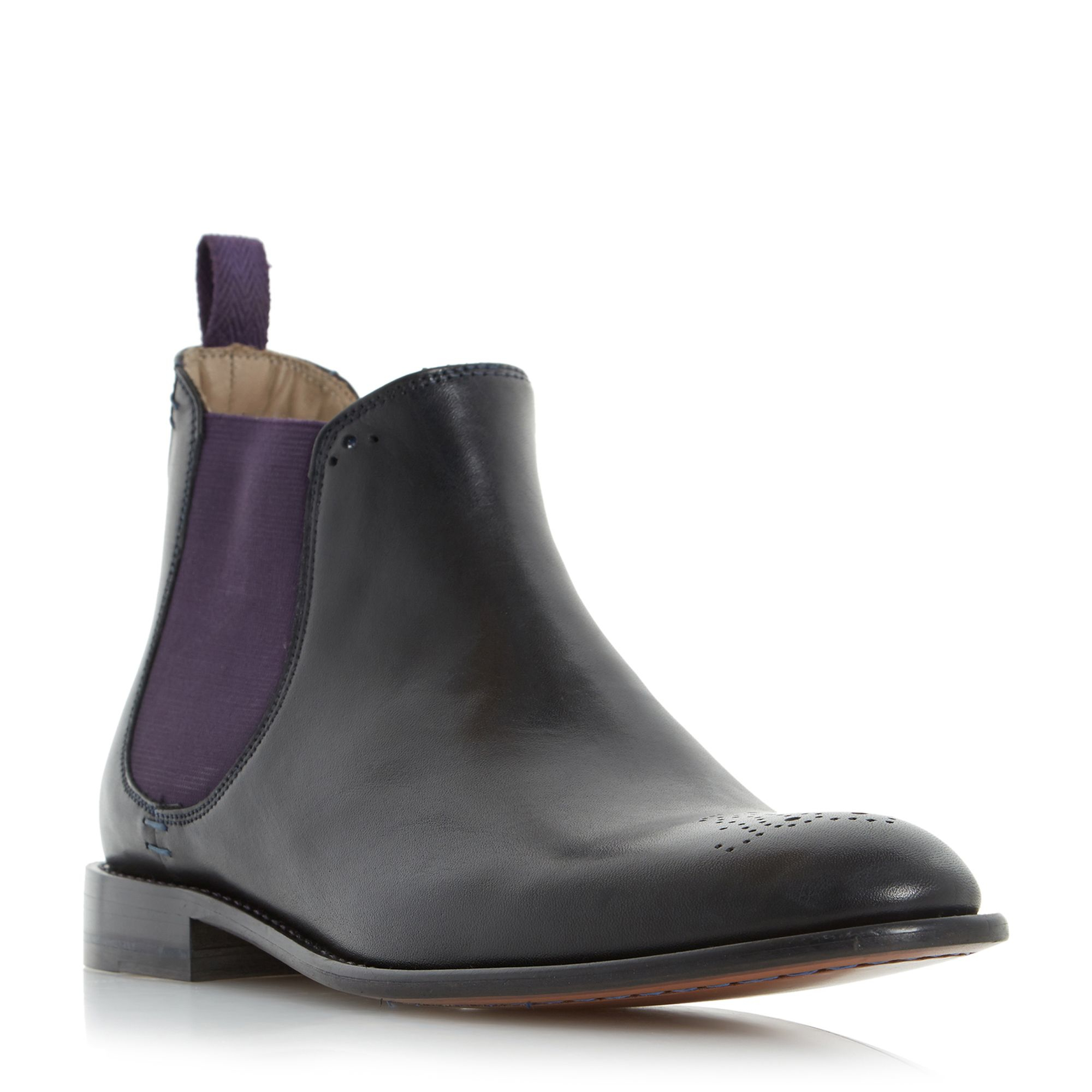 oliver sweeney silsden brogue toe chelsea boots chelsea boots slip. Black Bedroom Furniture Sets. Home Design Ideas