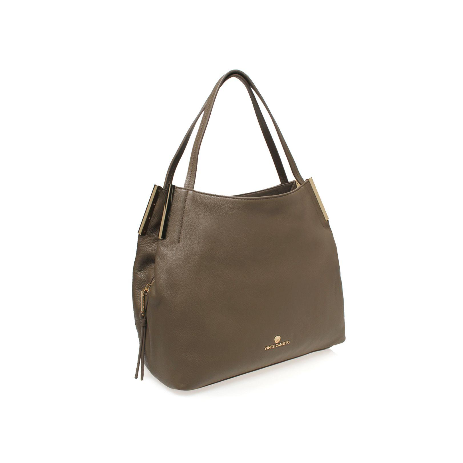 Vince Camuto Tina Tote Bag In Taupe Brown Lyst