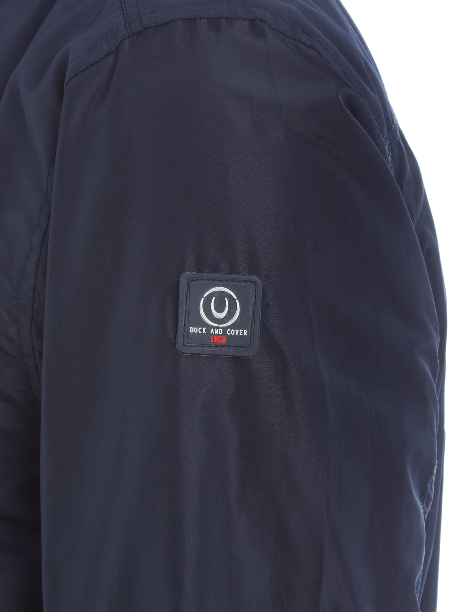Duck and Cover Synthetic Oakenfold Jacket in French Navy (Blue) for Men