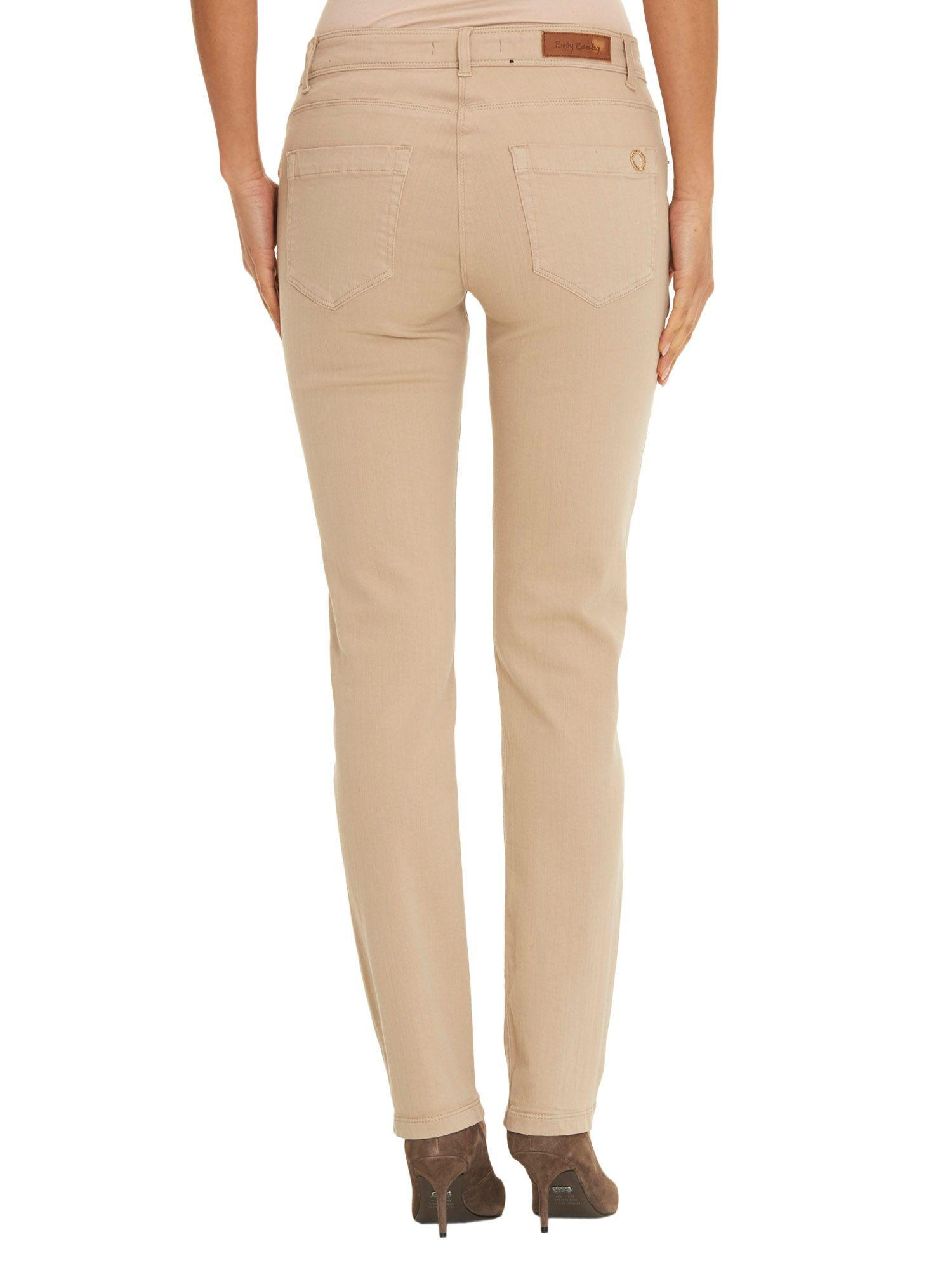 Betty Barclay Denim Perfect Slim Five Pocket Jeans in Beige (Natural)