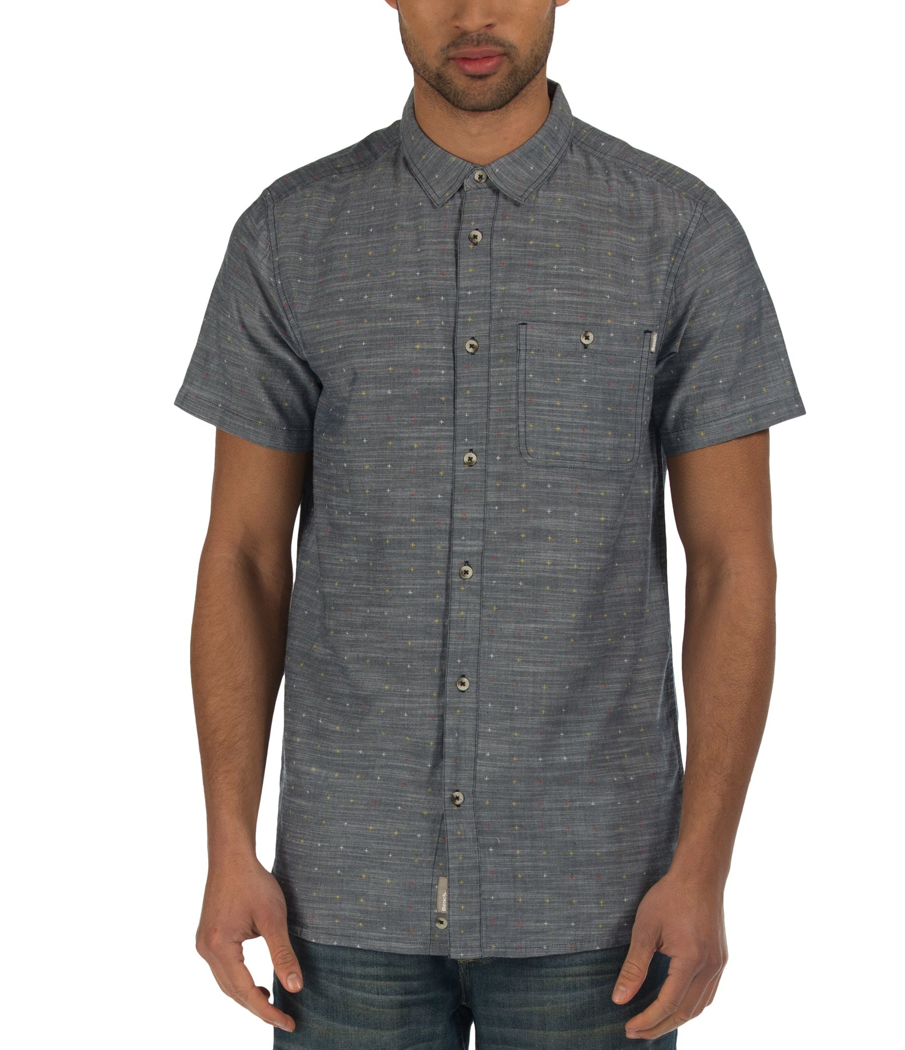 Bench Cotton End Shirt in Blue for Men