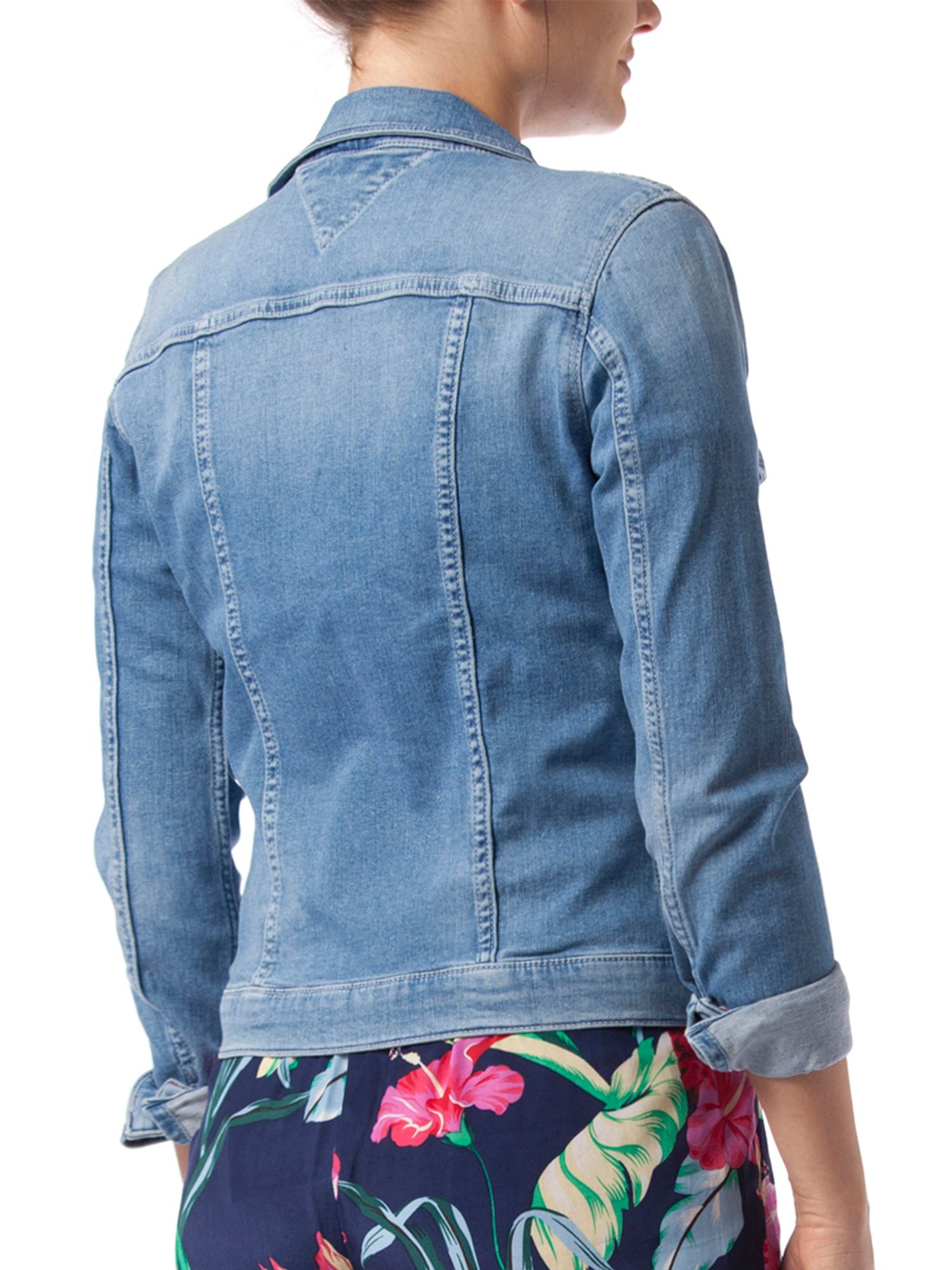 Tommy hilfiger Verona Jean Jacket in Blue | Lyst