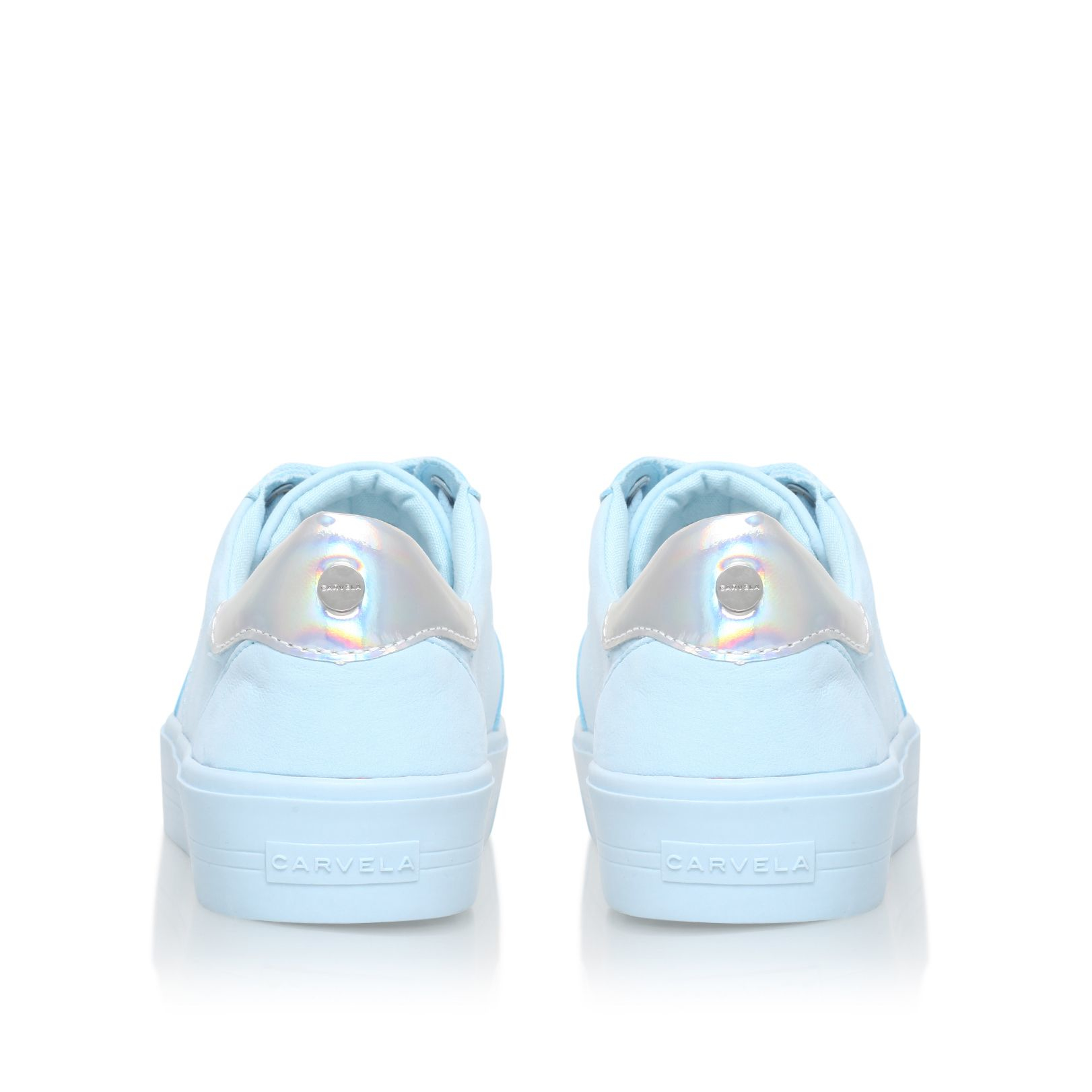 Carvela Kurt Geiger Synthetic Lotus Lace Up Sneakers in Light Blue (Blue)
