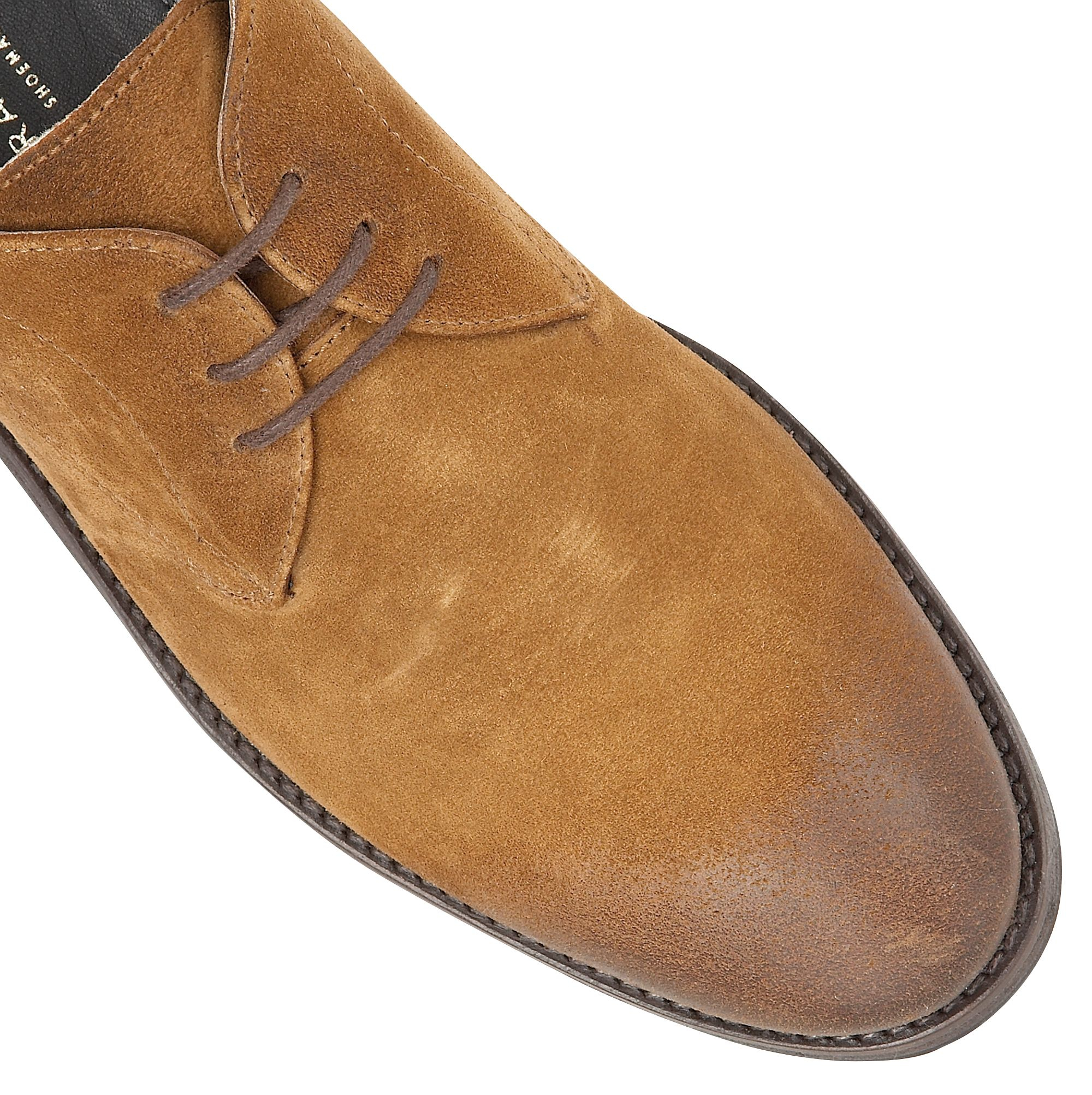 Frank Wright Leather Stringer Lace-ups in Tan (Brown) for Men