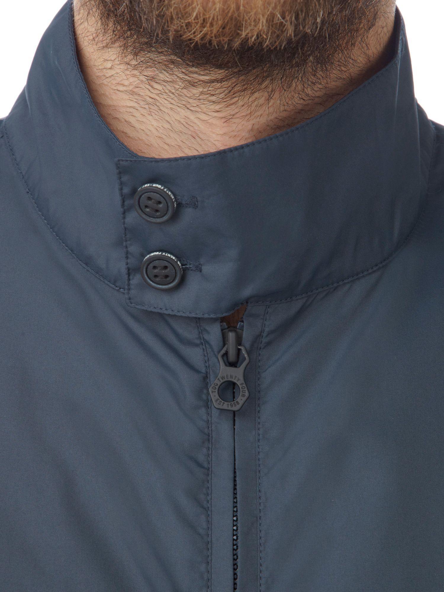 Tog 24 Synthetic Soul Mens Milatex Jacket in Navy (Blue) for Men