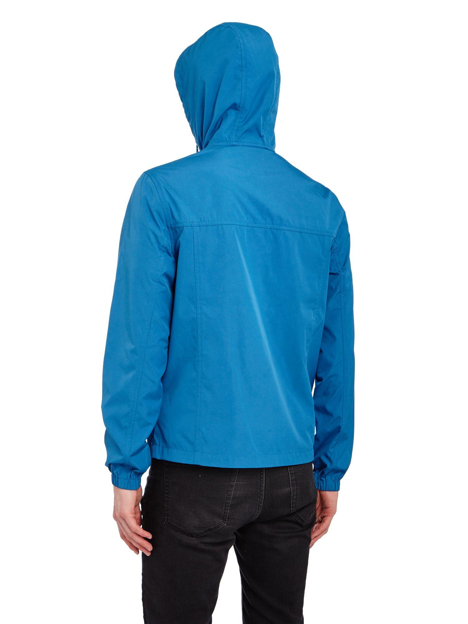 Original Penguin Synthetic Hydro Print Festival Jacket in Blue for Men