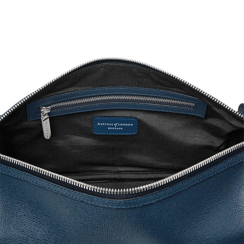 Lyst aspinal classic washbag in blue for Quality classic house of fraser