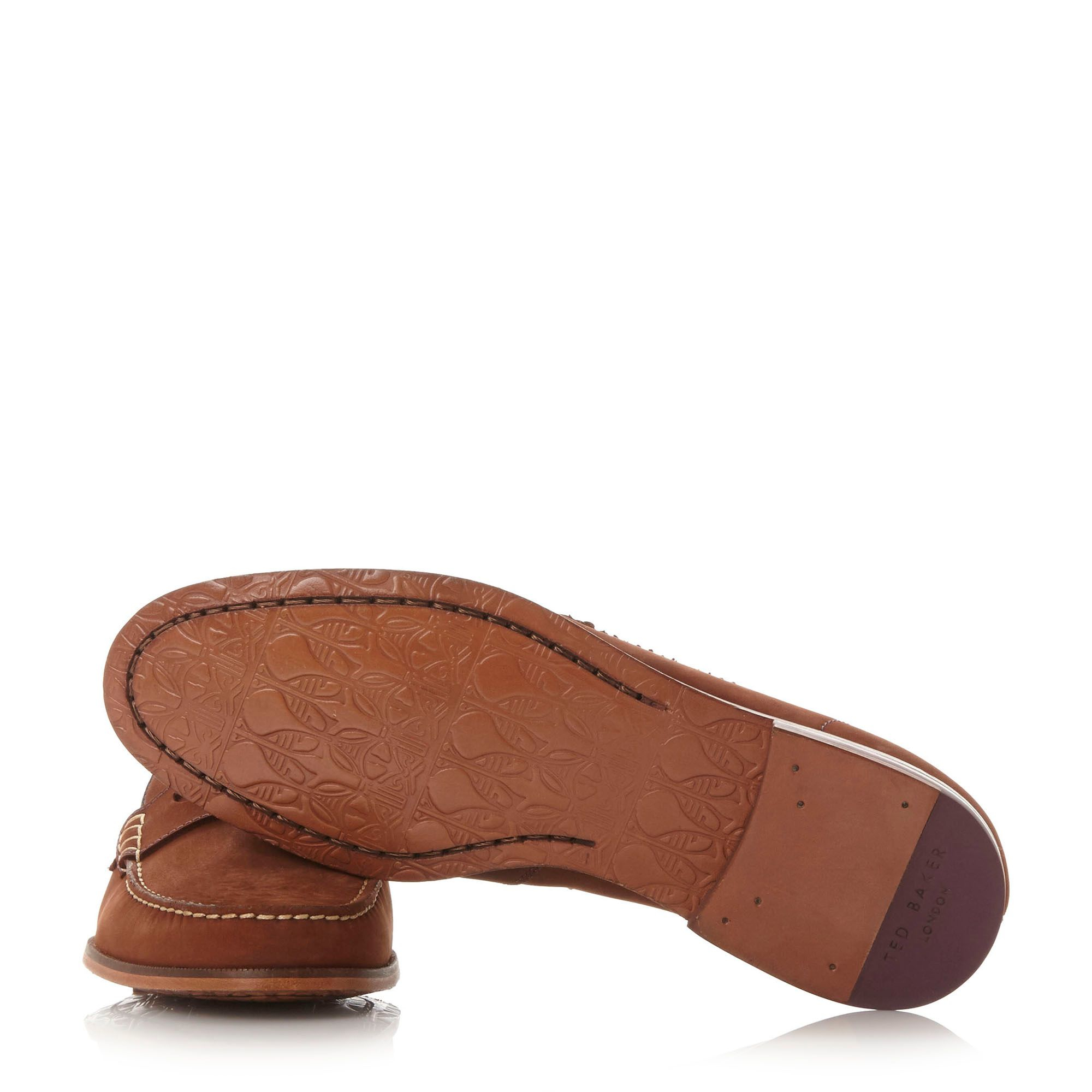 Ted Baker Leather Miicke 2 Penny Loafers in Tan (Blue) for ...