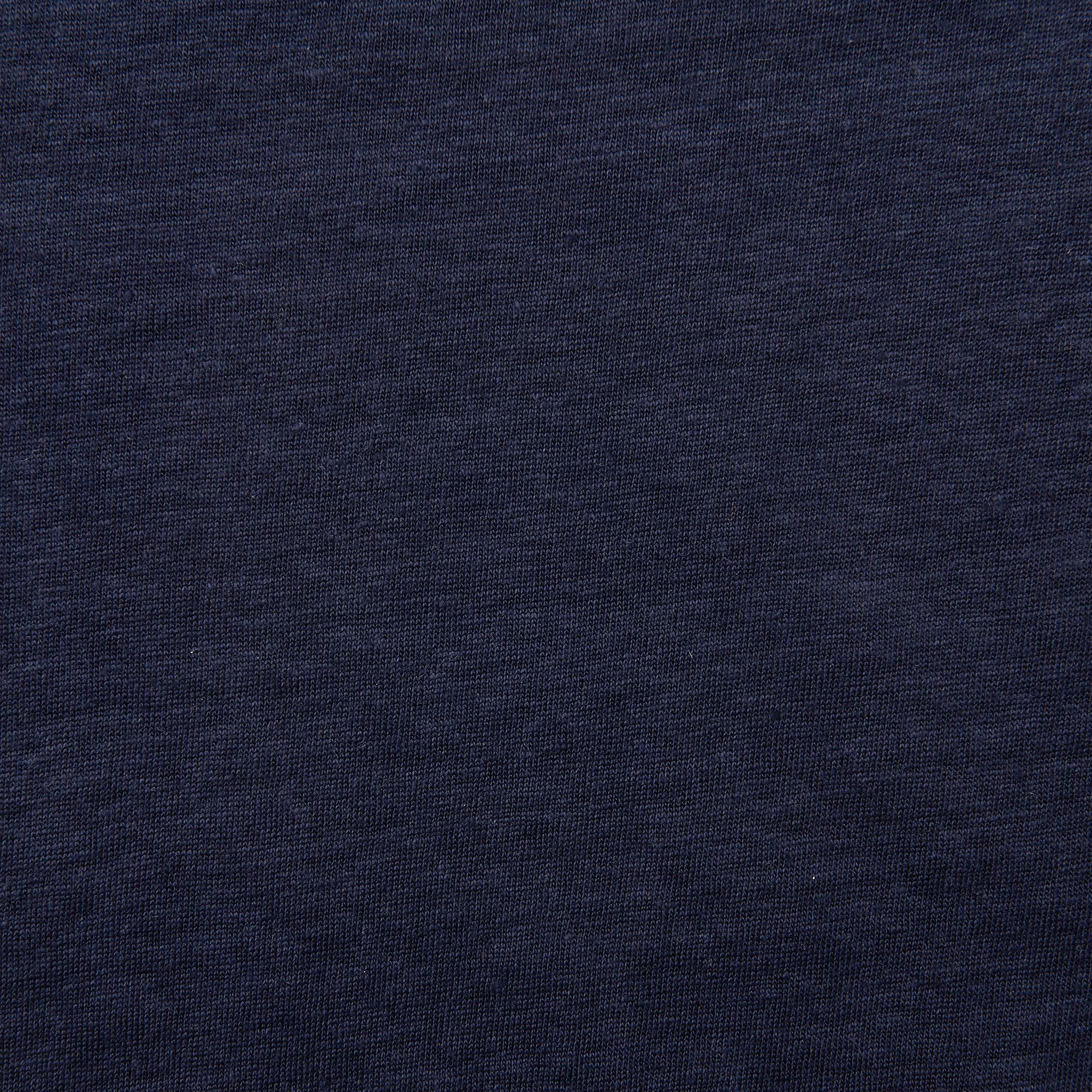 L.K.Bennett Linen Hula Tshirt in Dark Blue (Blue)