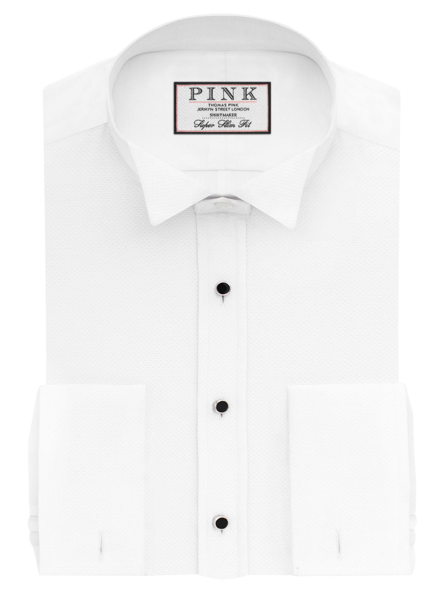 Thomas Pink Marcella Wing Collar Super Slim Fit Dress