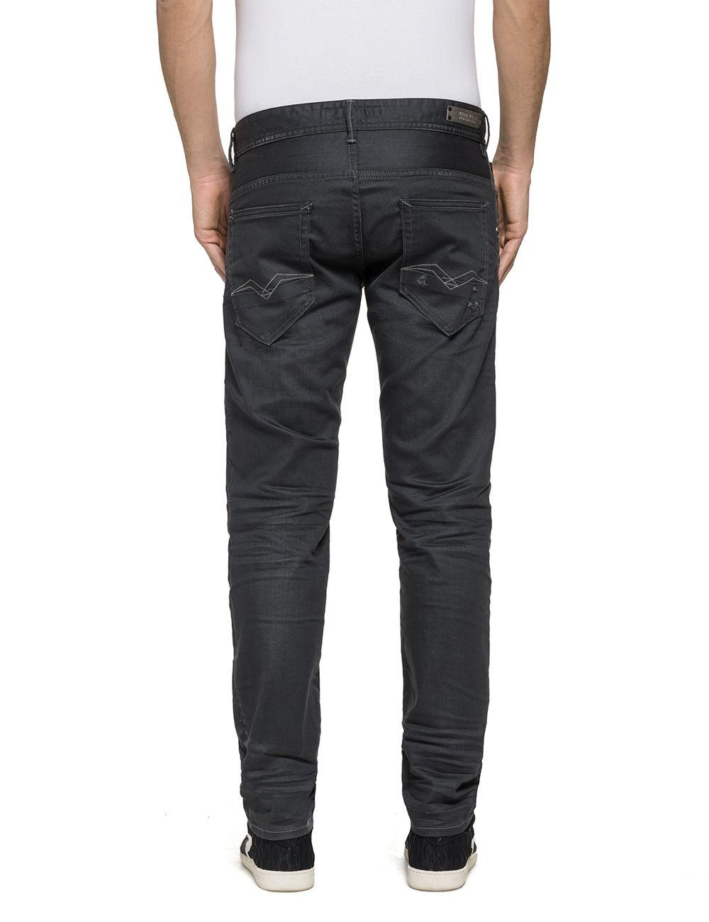Replay Denim Thyber Slim Fit Jeans in Blue for Men