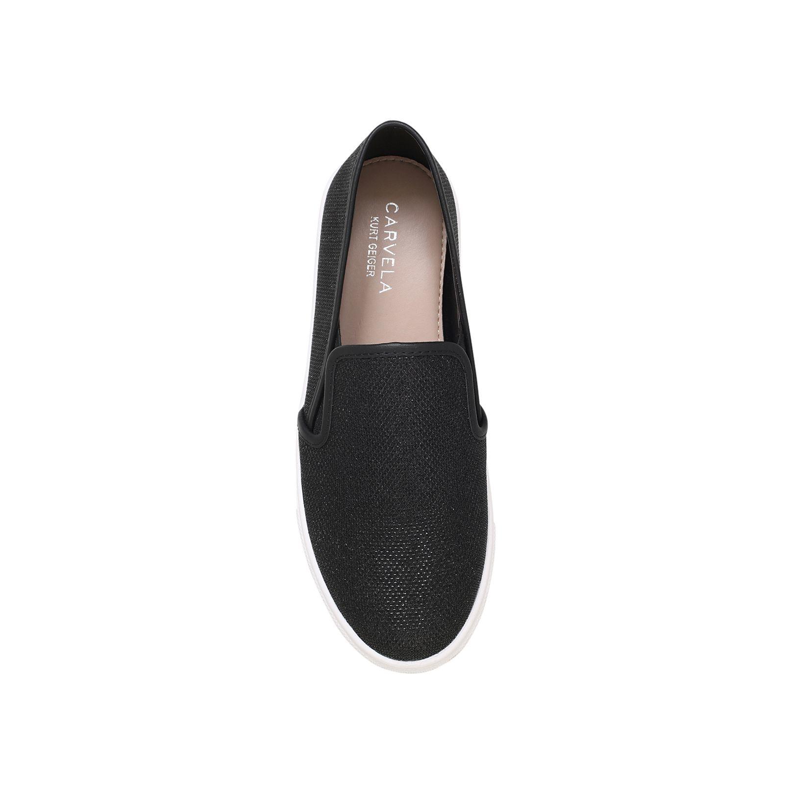 Carvela Kurt Geiger Synthetic Jumo Flat Slip On Sneakers in Black for Men