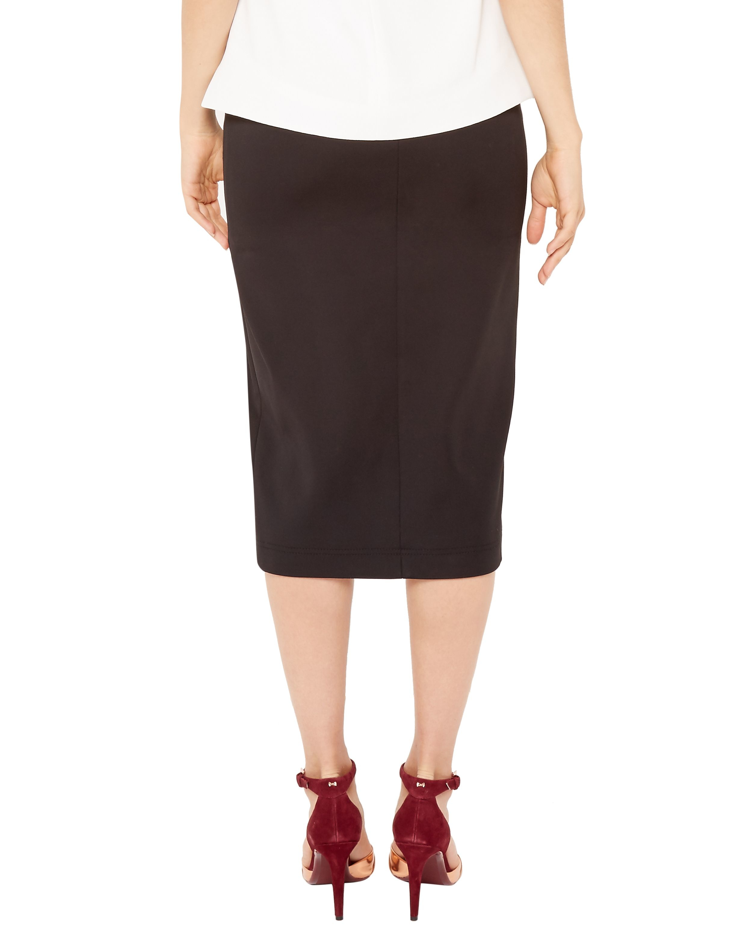 Ted baker Gemia High Waisted Pencil Skirt in Black