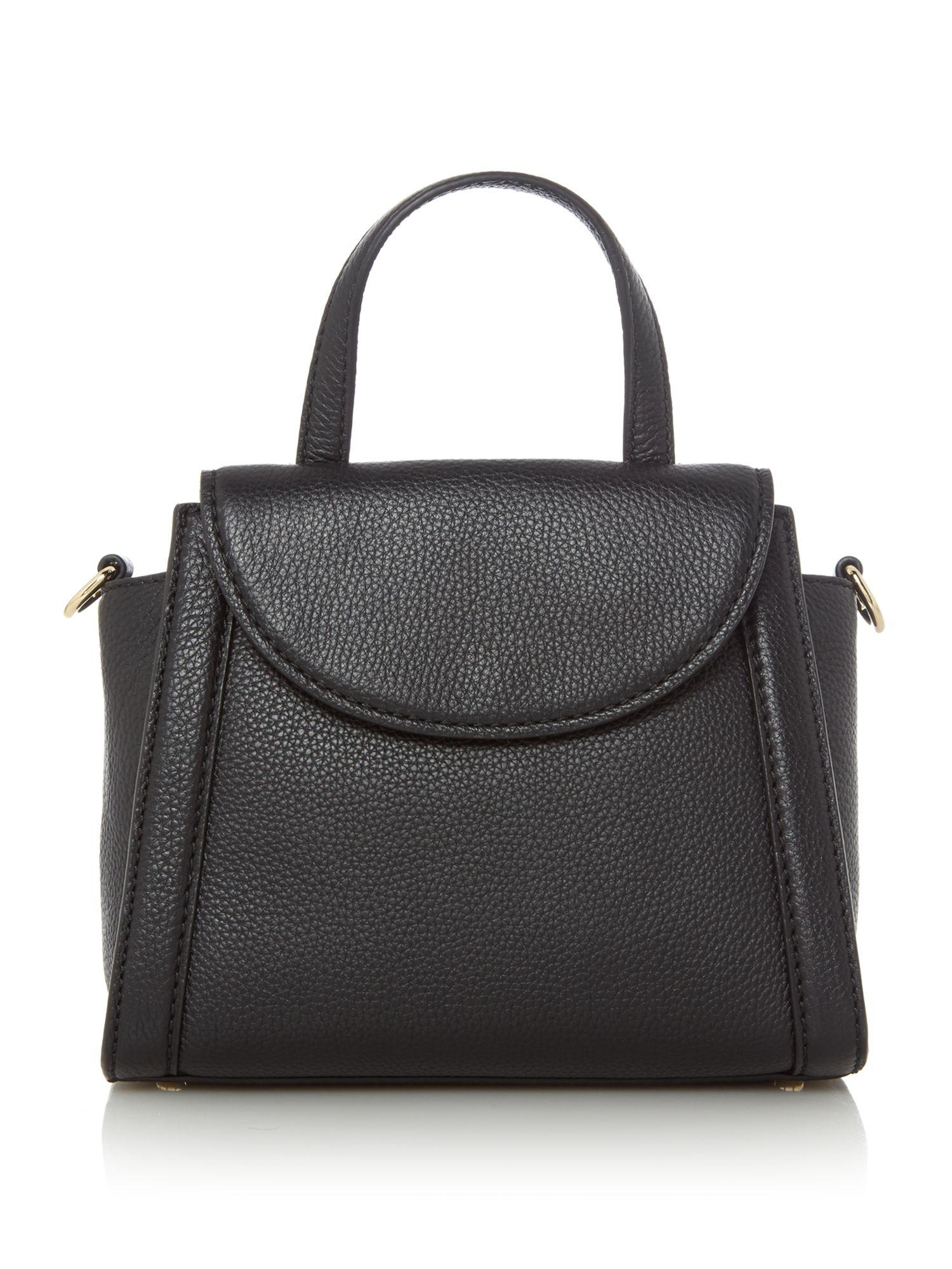 Kate Spade Leather Cobble Hill Small Adrian Tote Bag in Black