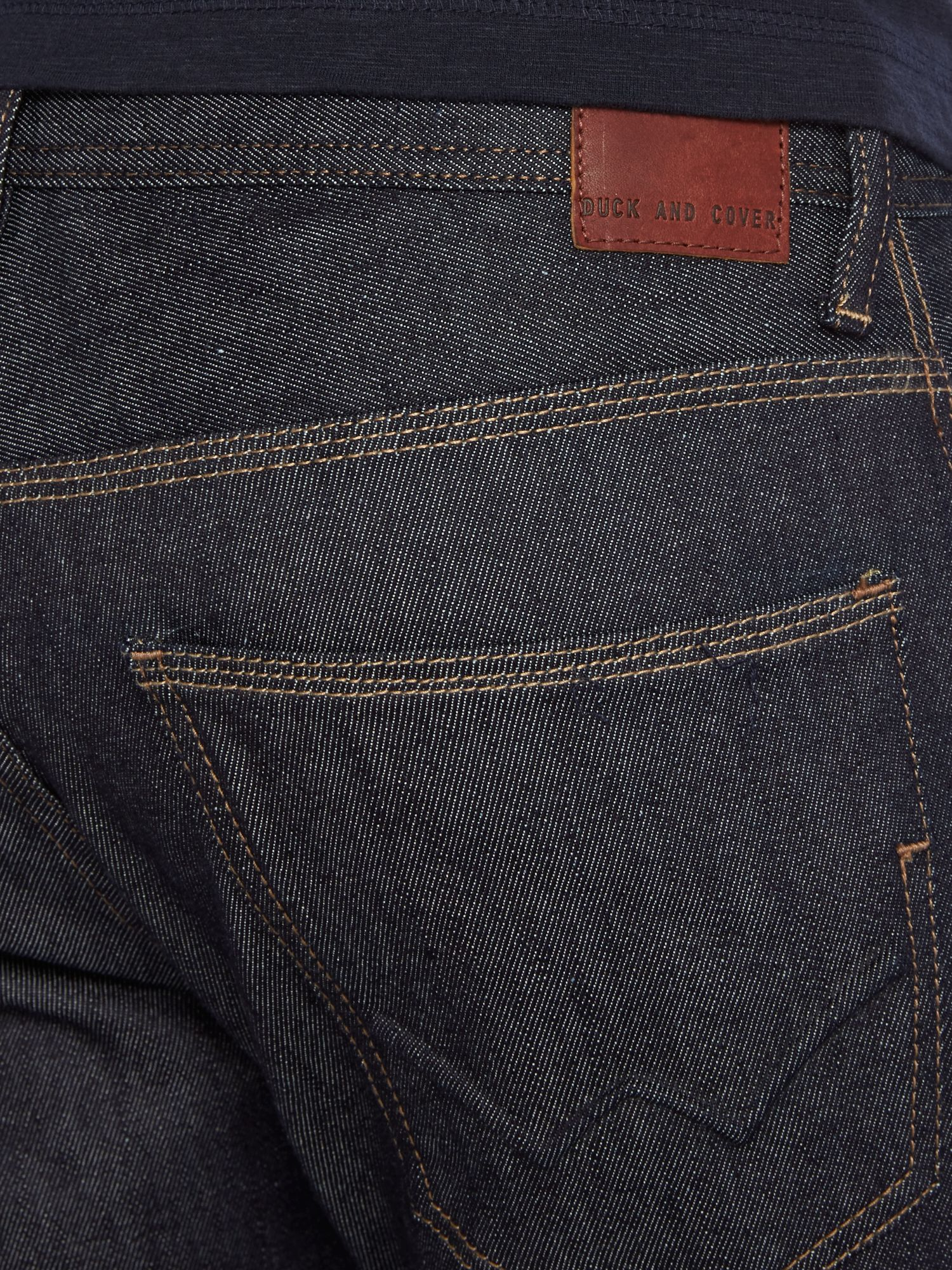 Duck and Cover Denim Boxren Tapered Jeans in Blue for Men