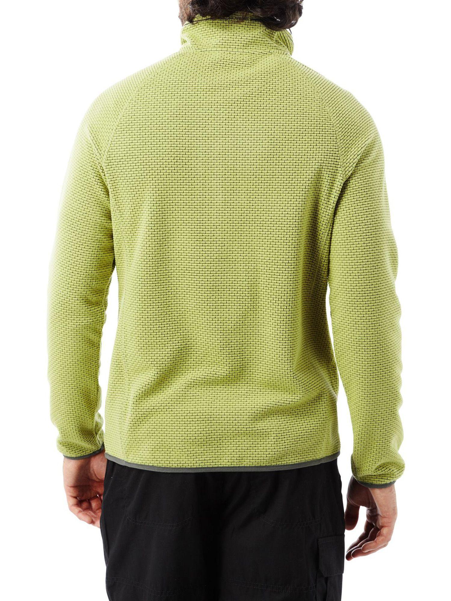 Craghoppers Fleece Liston Half Zip Jacket in Green for Men