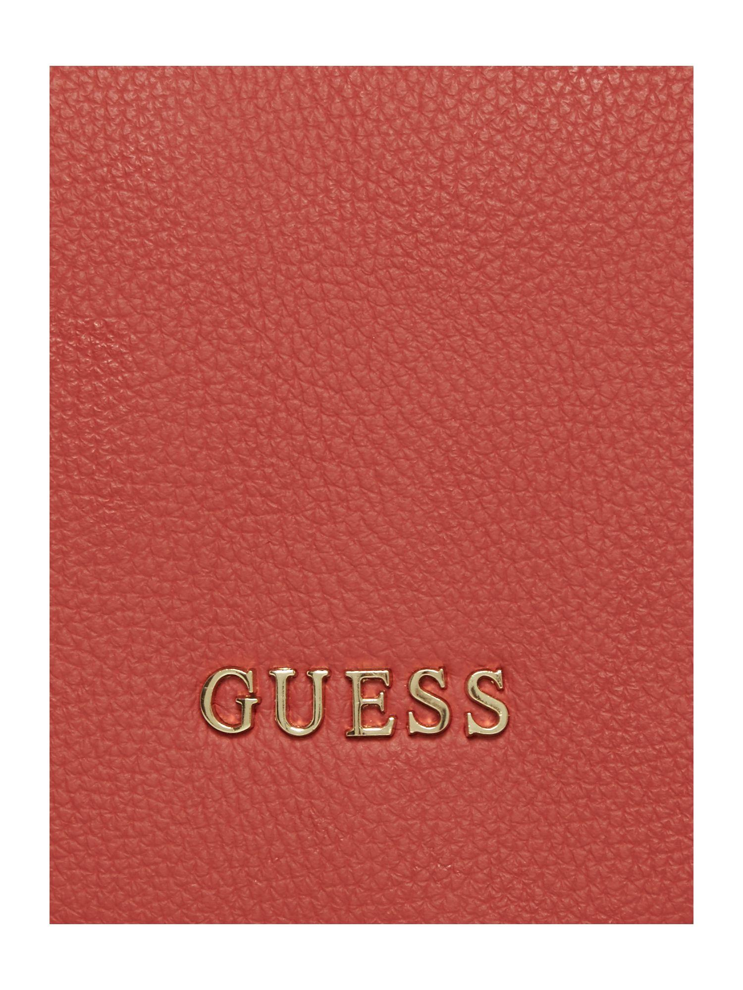 Guess Desire Cross Body Bag in Red