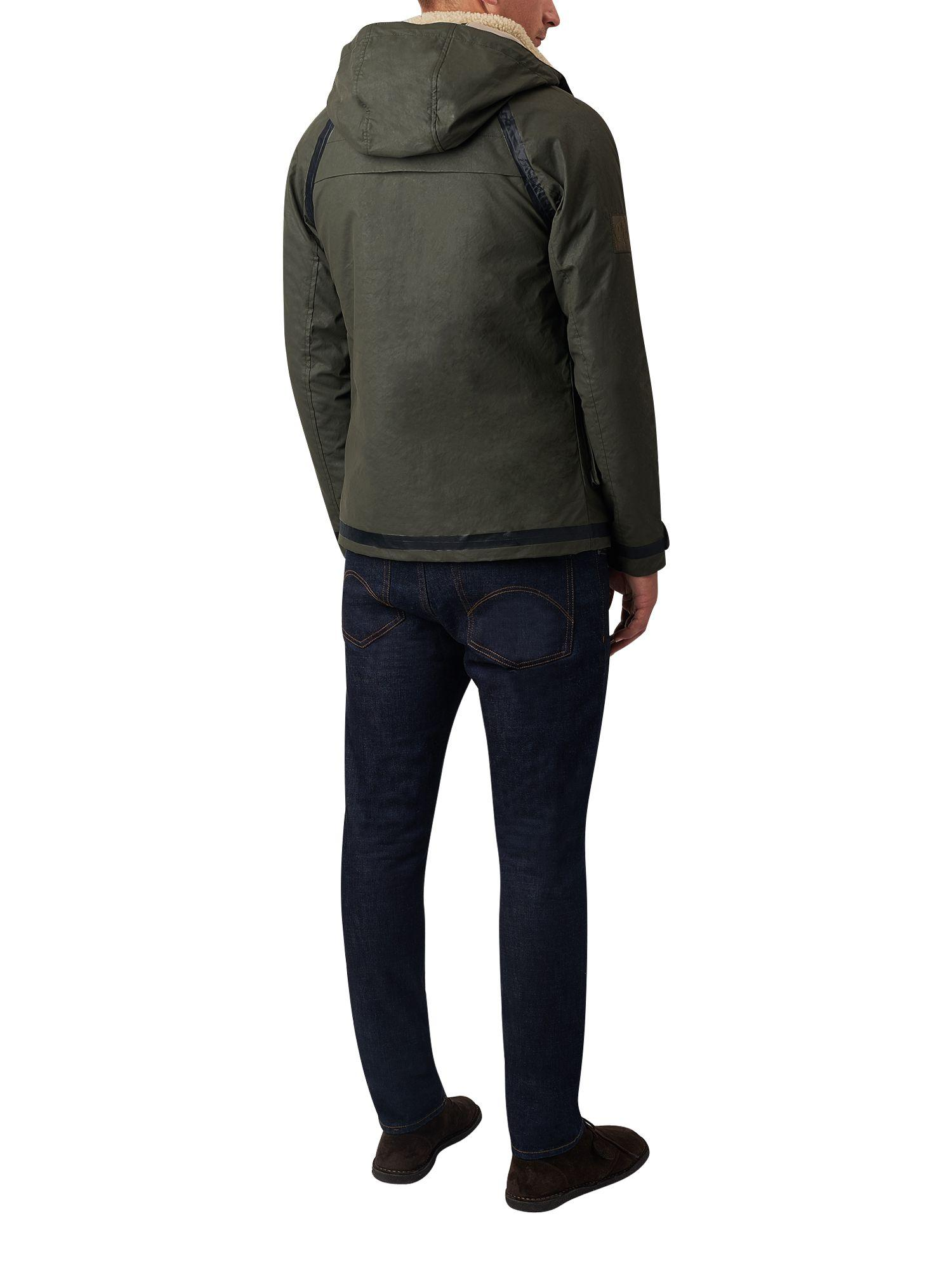 Pretty Green Cotton Coleman Hooded Jacket for Men