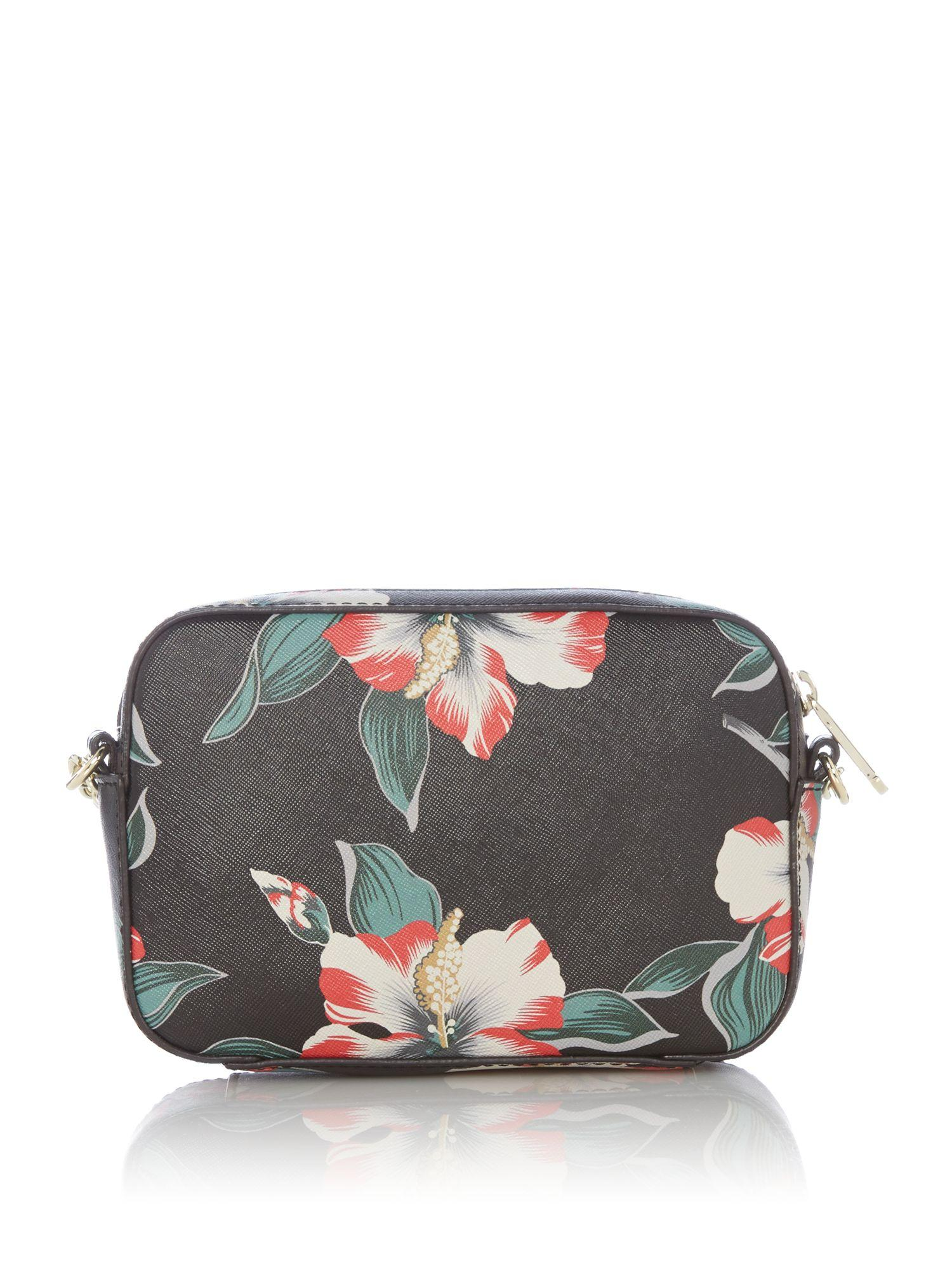 Guess Isabeau Floral Cross Body Bag