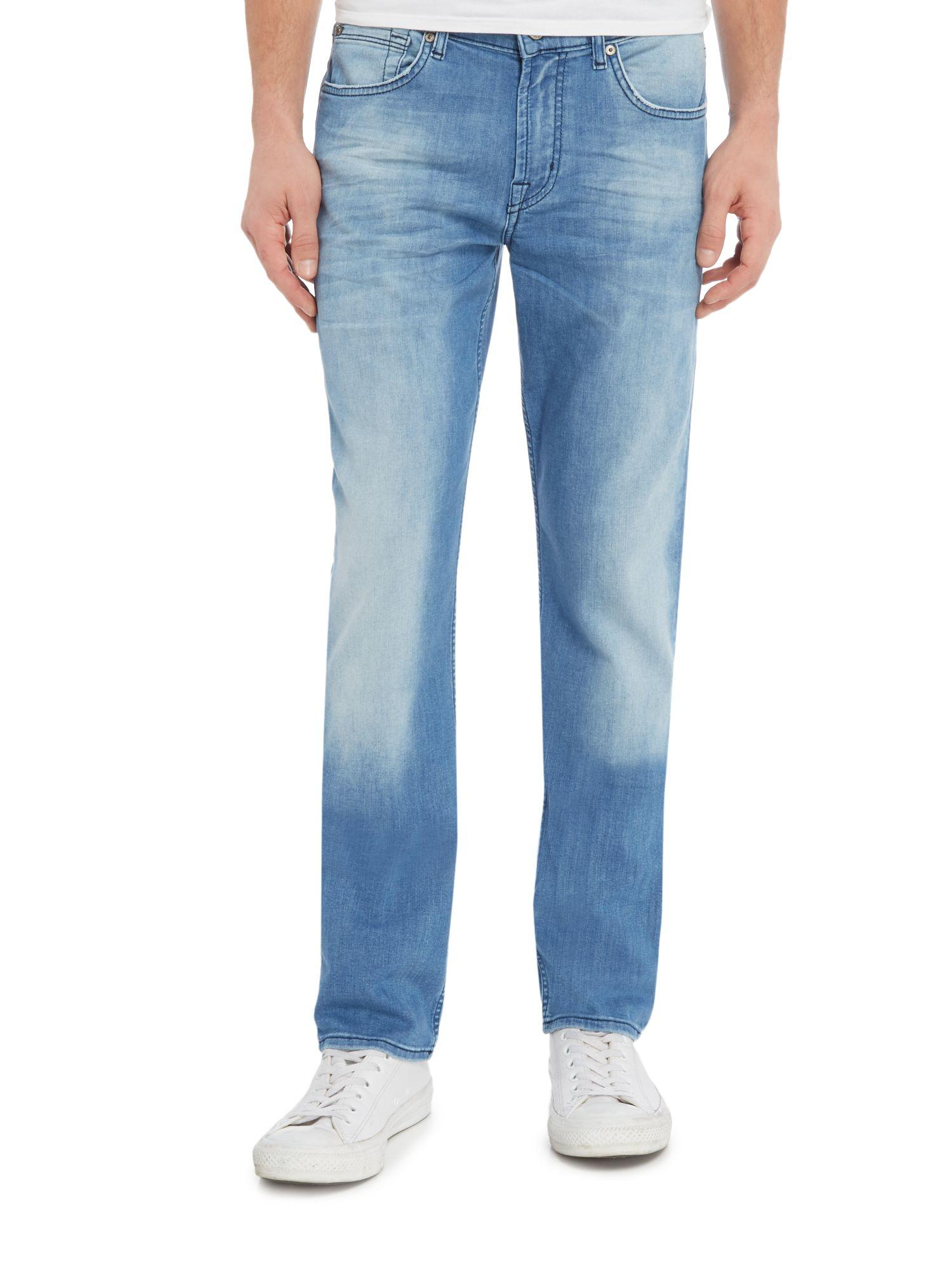 7 For All Mankind Denim Weidenligblu Slimmy Jeans in Light Blue (Blue) for Men