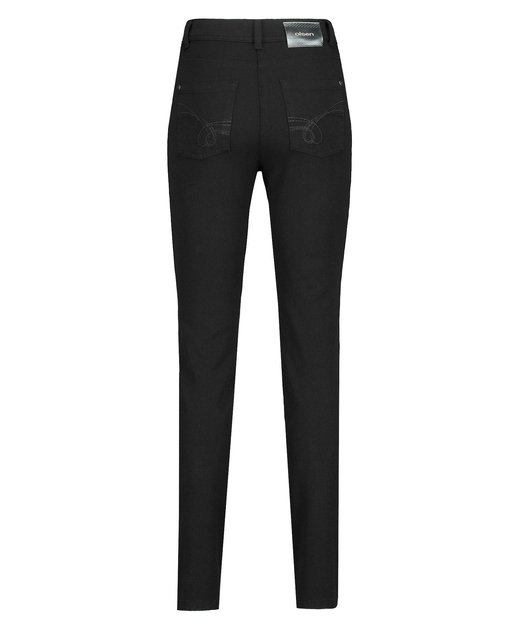 Olsen Denim Skinny Mona Jeans in Black