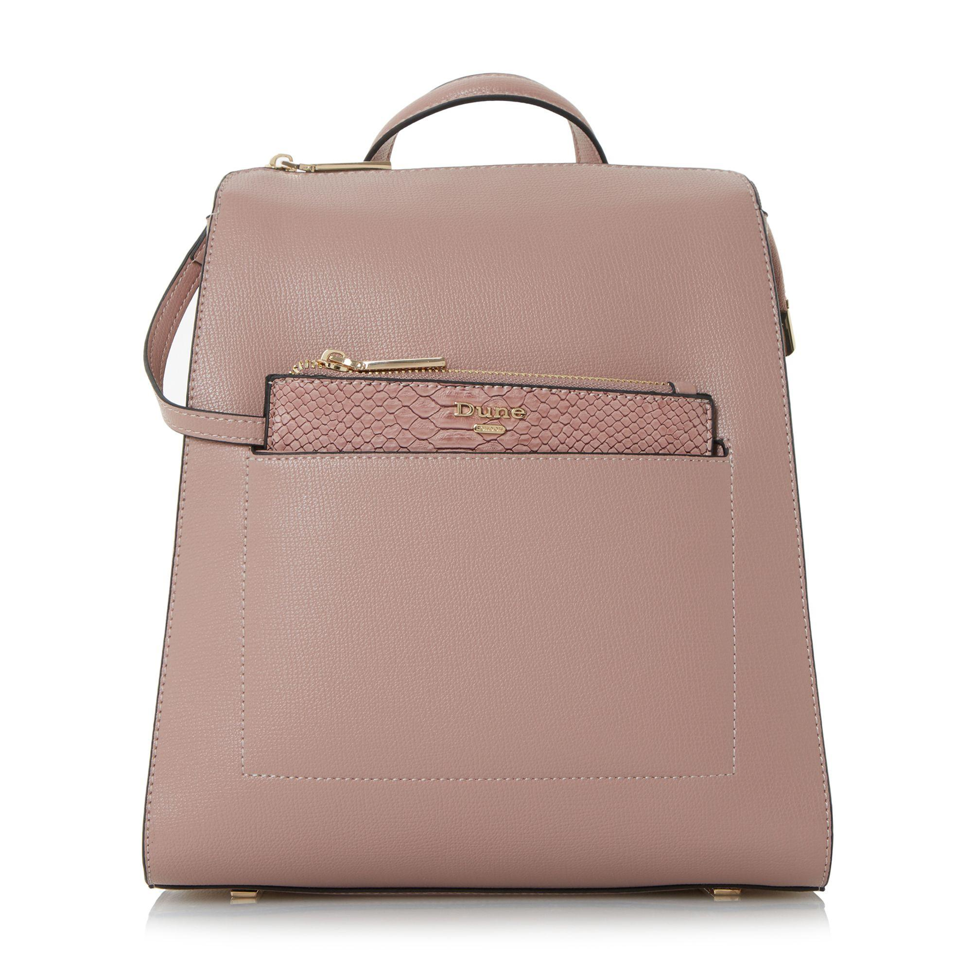 Lyst Dune Dahlier Backpack In Pink
