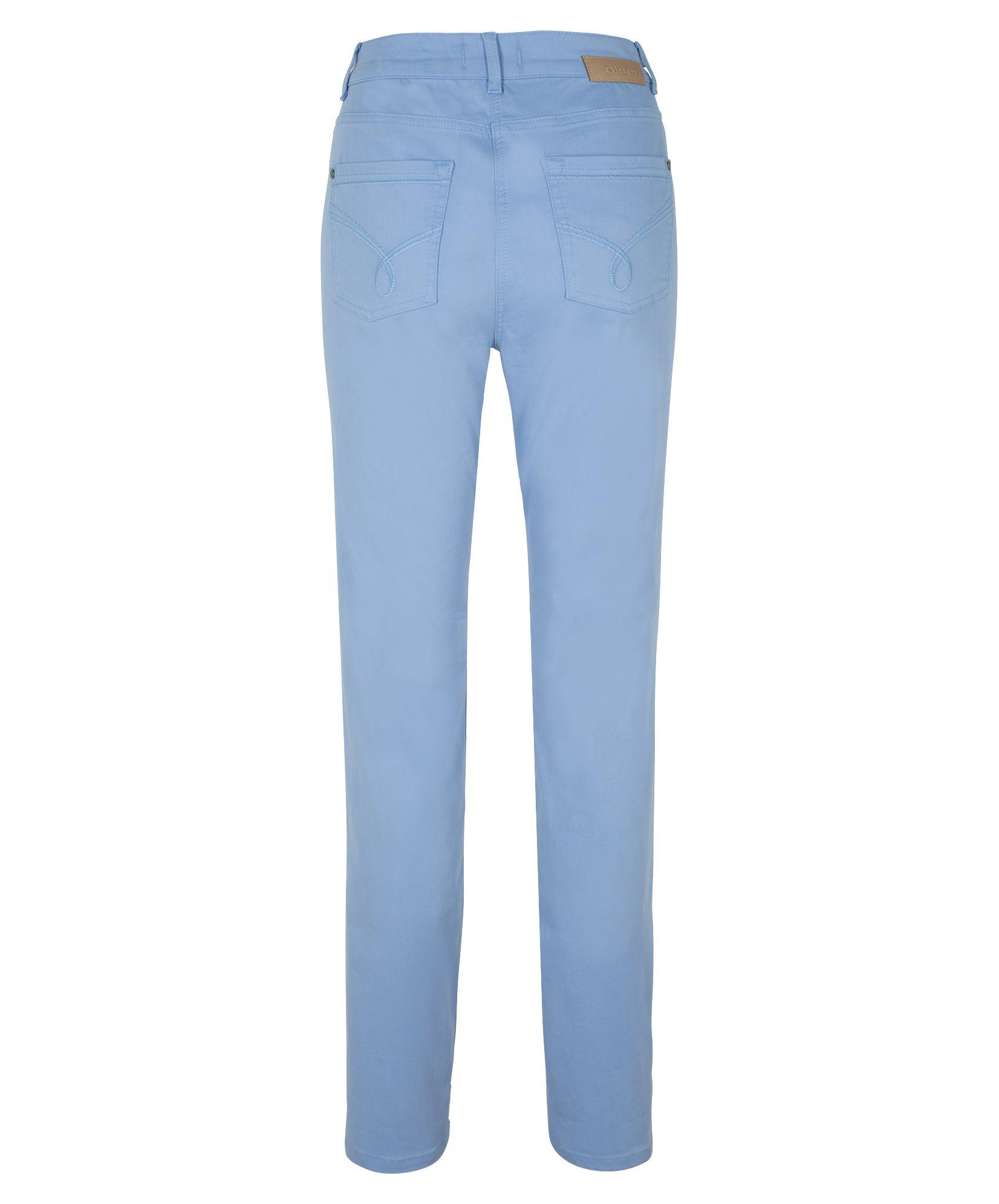 Olsen Denim Mona Straight Jeans in Blue