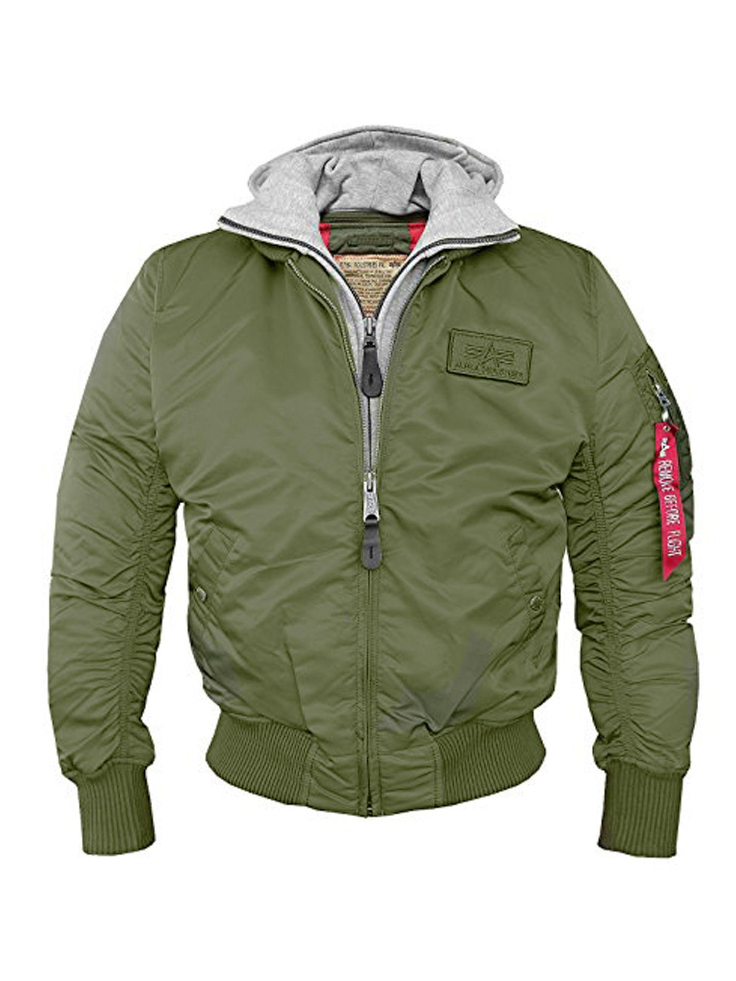 alpha industries ma 1 d tec jacket in green for men lyst. Black Bedroom Furniture Sets. Home Design Ideas