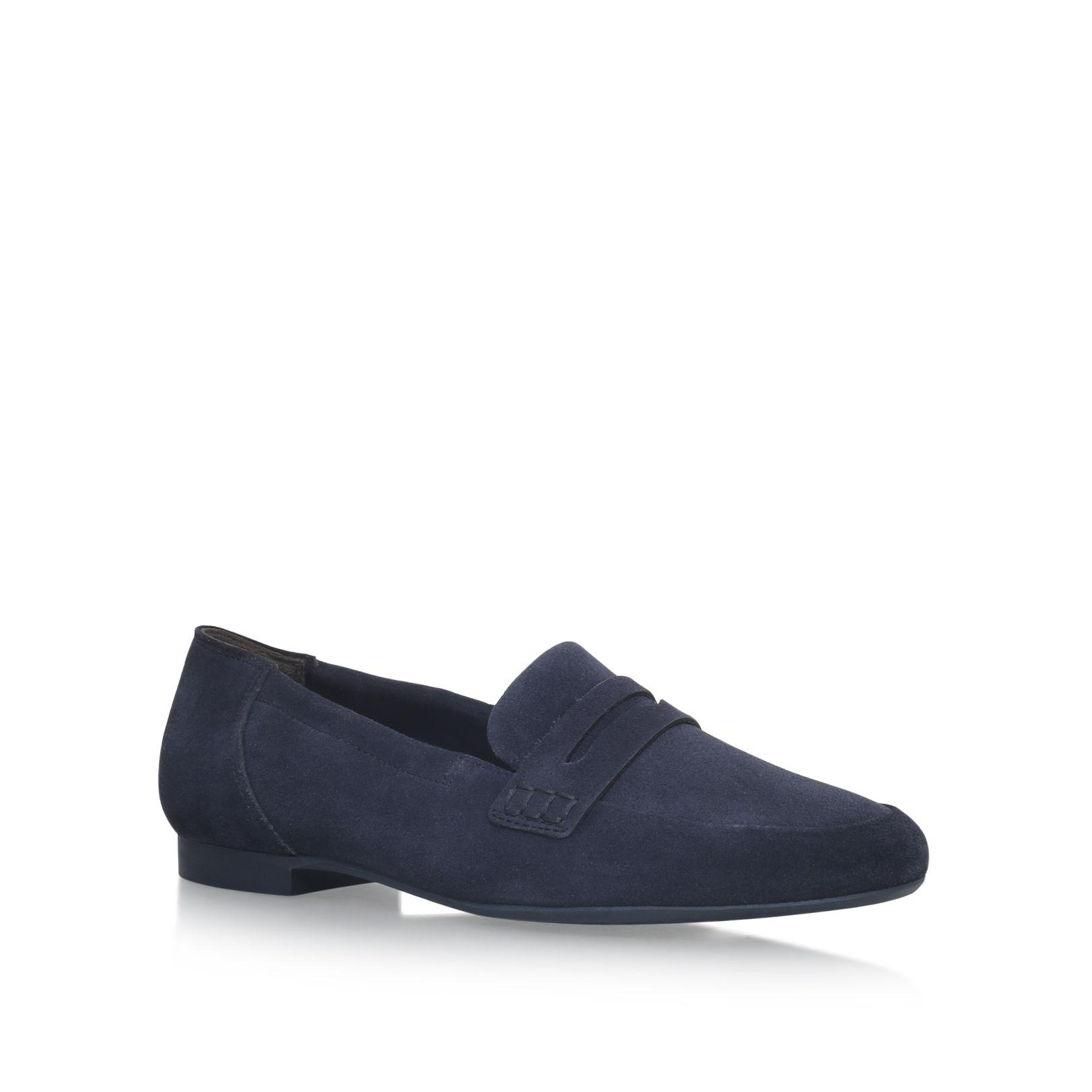 paul green judy slip on loafers in blue lyst. Black Bedroom Furniture Sets. Home Design Ideas
