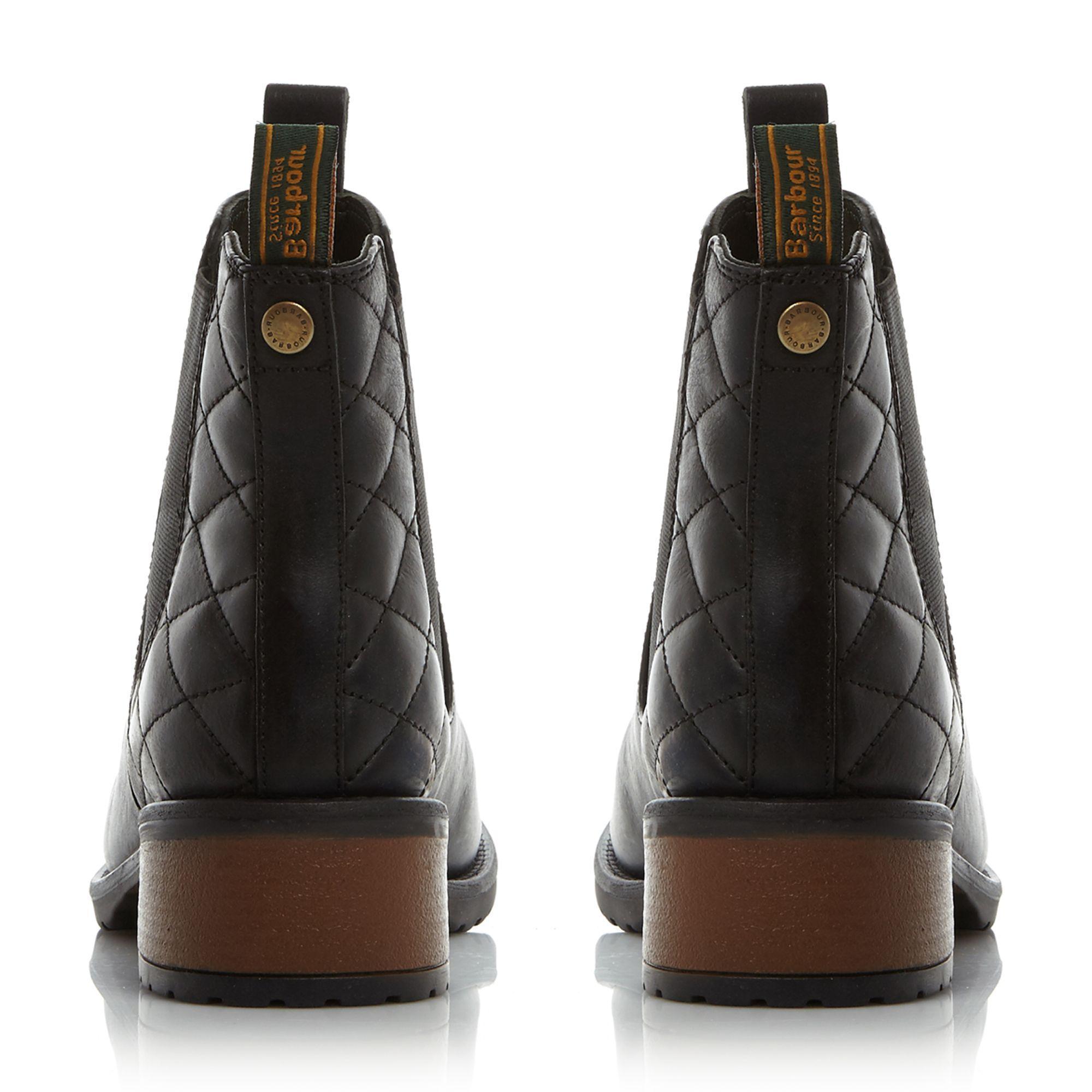 Dune Leather Latimer Plain Chelsea Boots in Black
