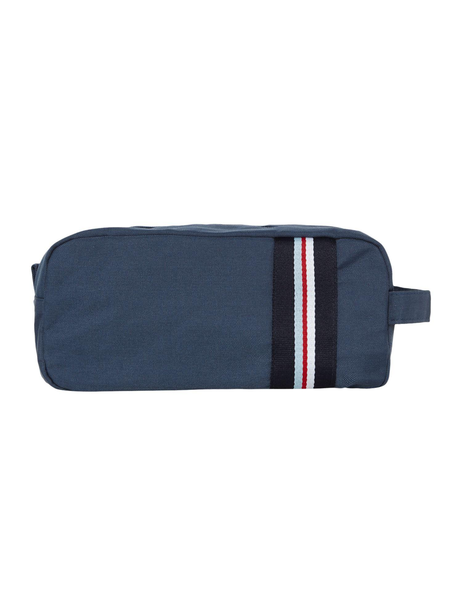 Lyst original penguin classic stripe washbag in blue for men for Quality classic house of fraser