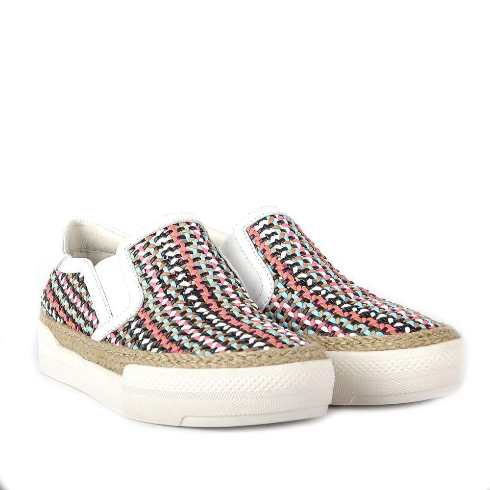 Ash Leather Cali Trainers