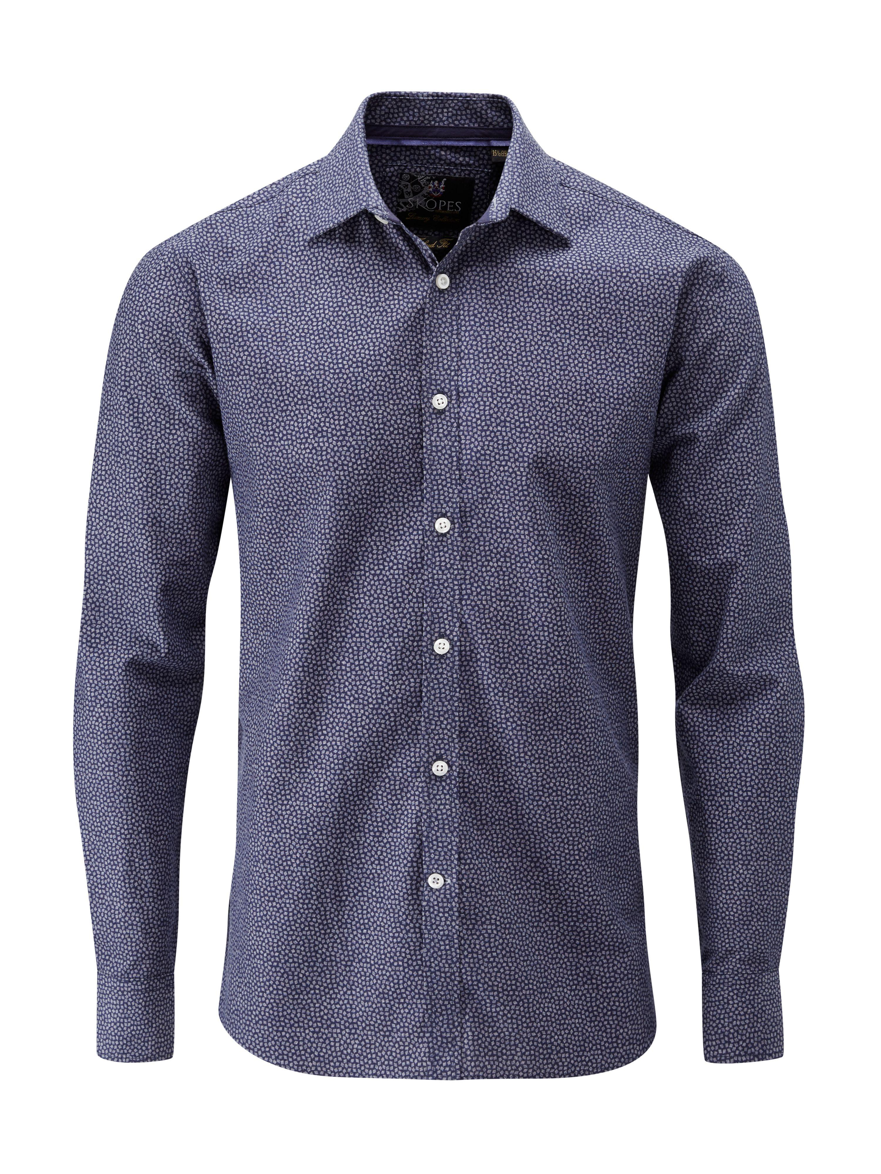 Lyst Skopes Casual Party Shirts In Blue For Men