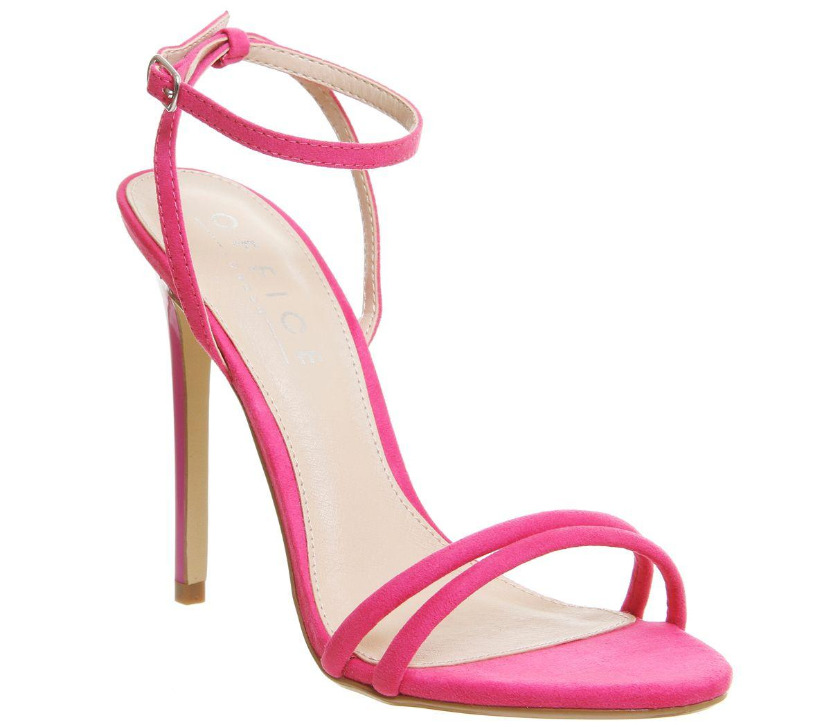 office hibiscus sandals in pink lyst