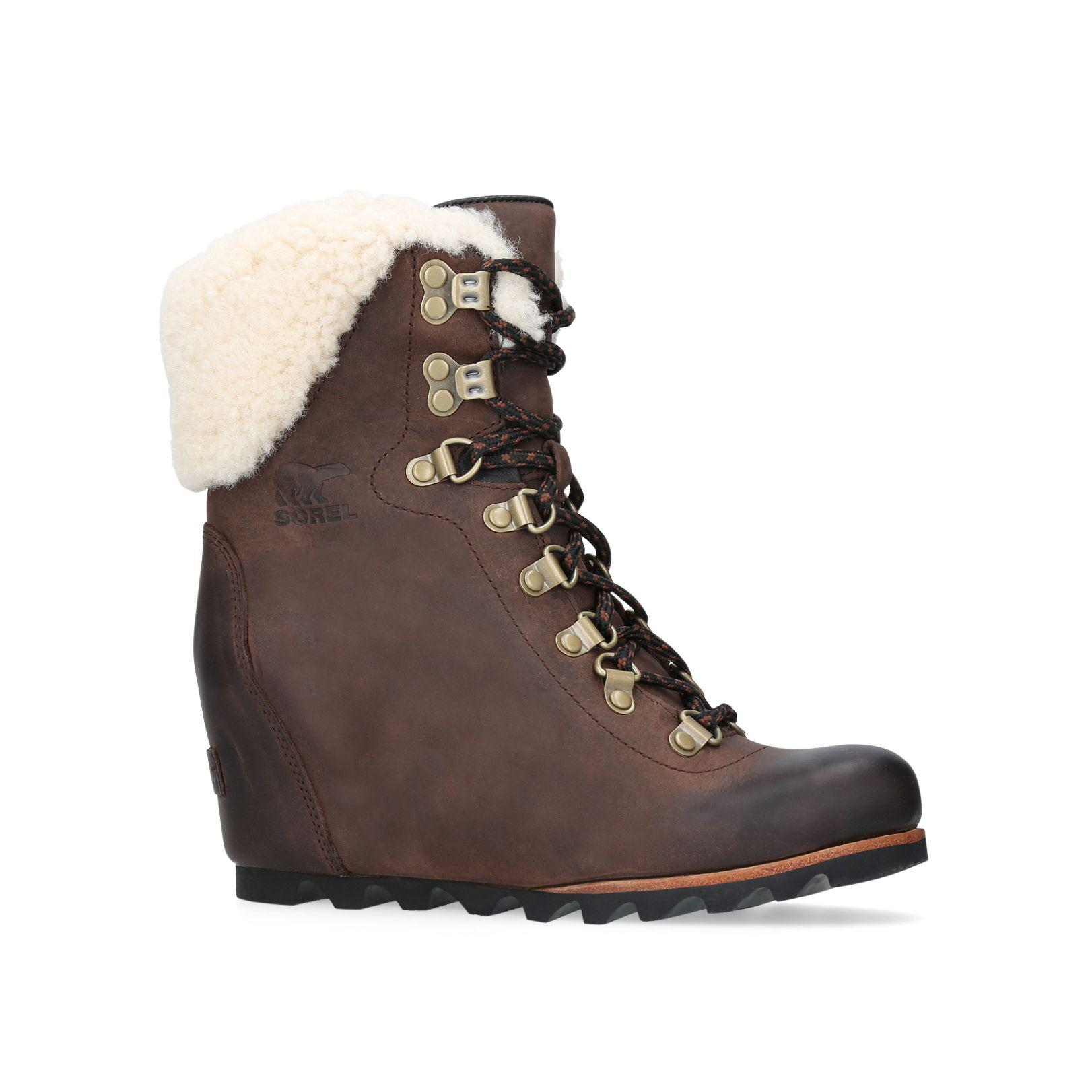 Cheap Sale Low Shipping Fee sorel CONQUEST WEDGE women's Low Ankle Boots in 100% Original Sale Online Free Shipping Cheapest Buy Cheap Finishline Cheap Sale New Arrival 3DlrFm