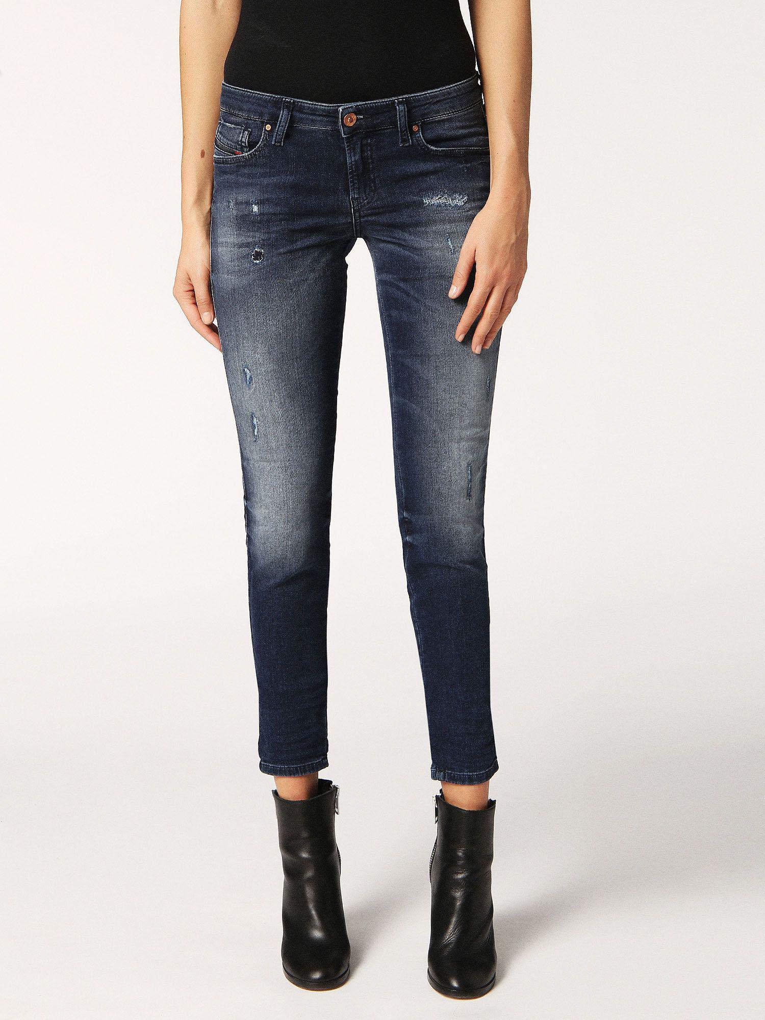 Gracey JoggJeans 0687D jeans - Blue Diesel aCoZX