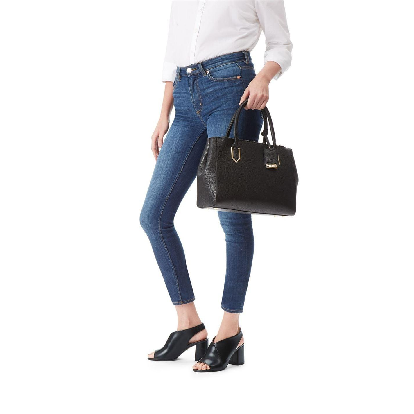 Carvela Kurt Geiger Synthetic Sunny Double Zip Tote in Black