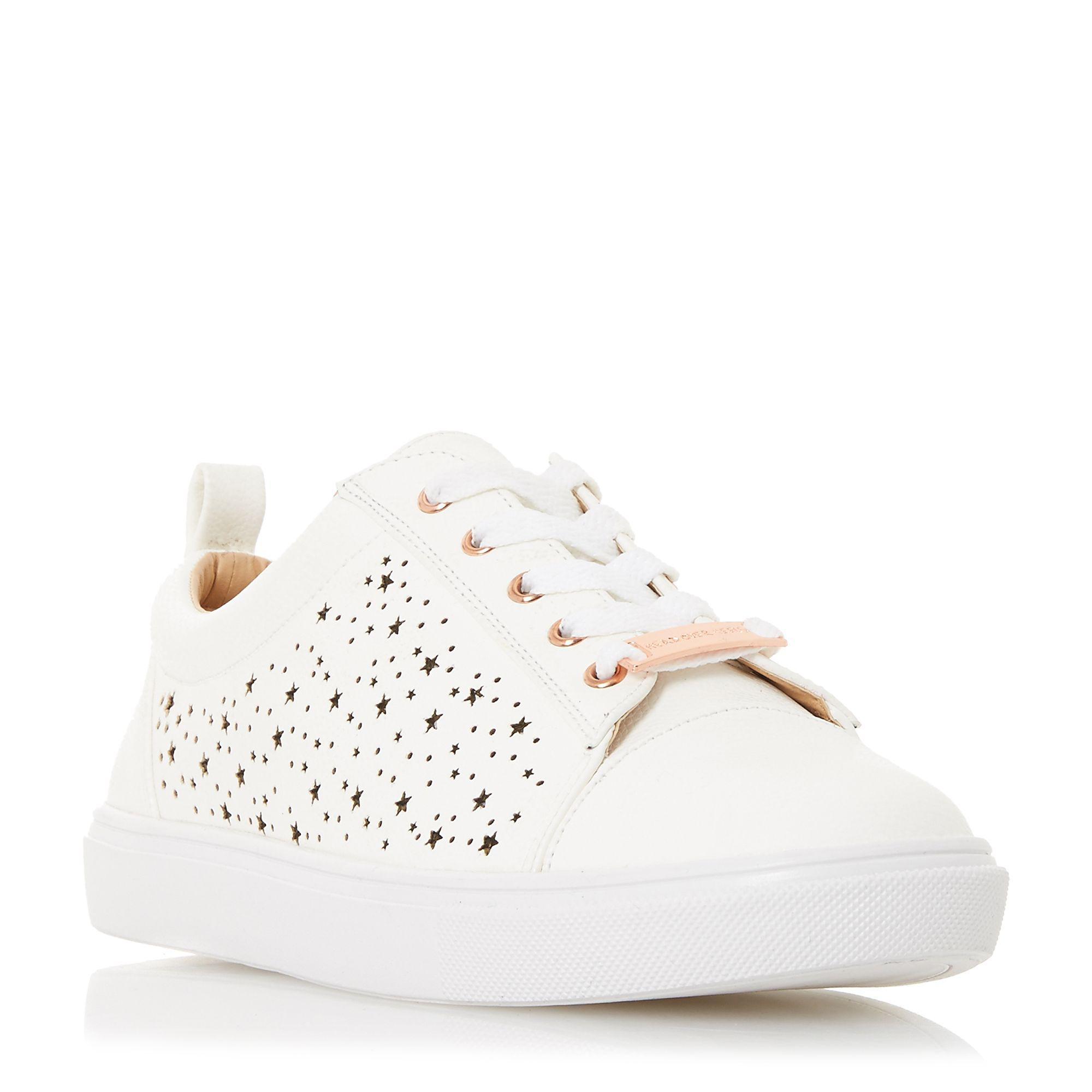 Dune London Elektraa White Casual Sneakers clearance fashion Style for sale buy authentic online clearance outlet store wc4xuEV8o8