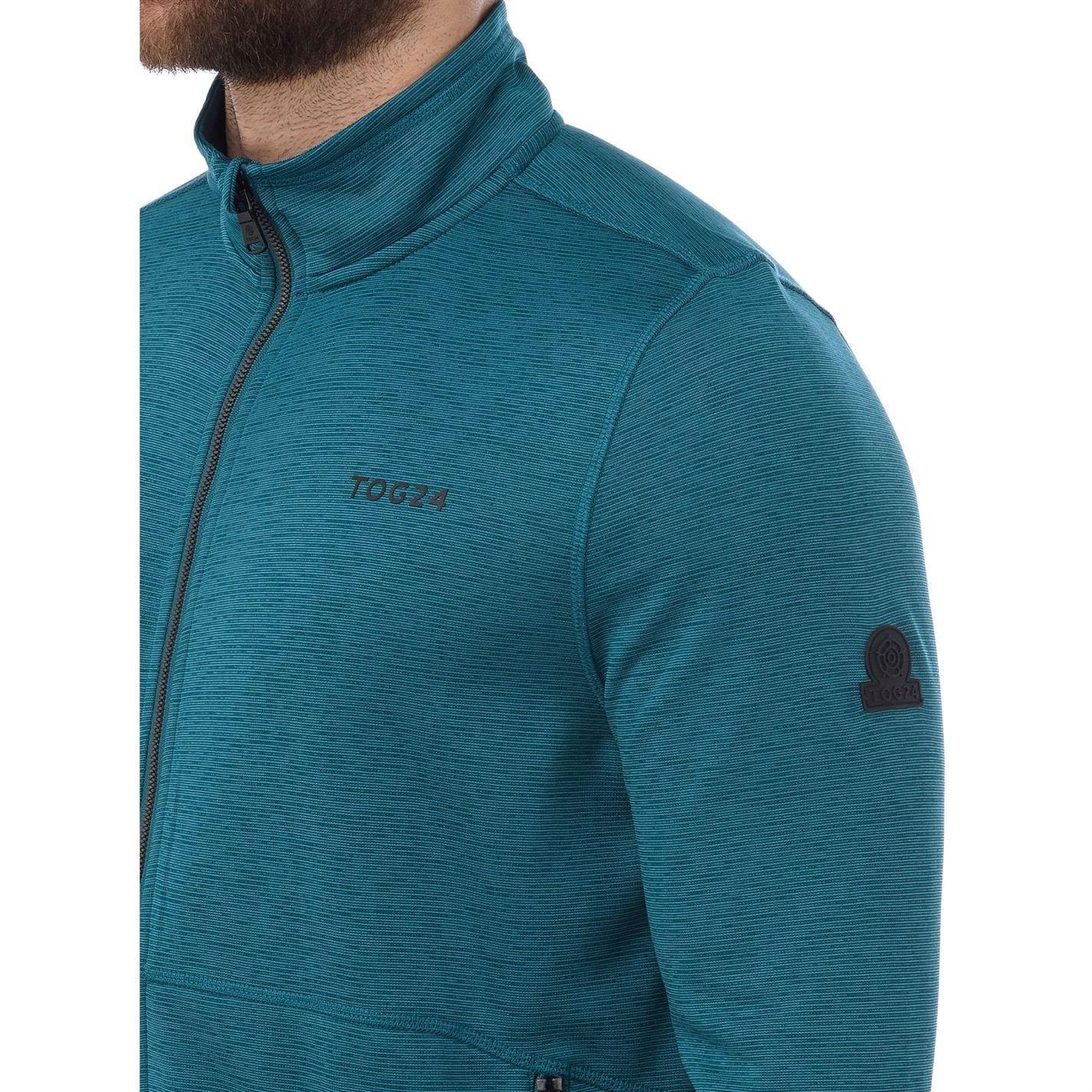 Tog 24 Fleece Stump Tcz Stretch Jacket in Blue for Men