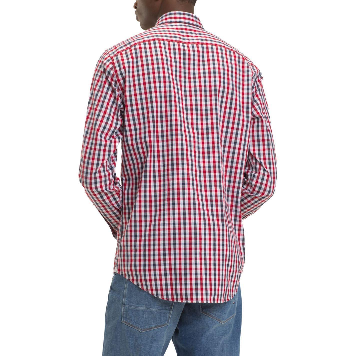 Tommy Hilfiger Regular Denim Shirt Msndk Camisa para Hombre