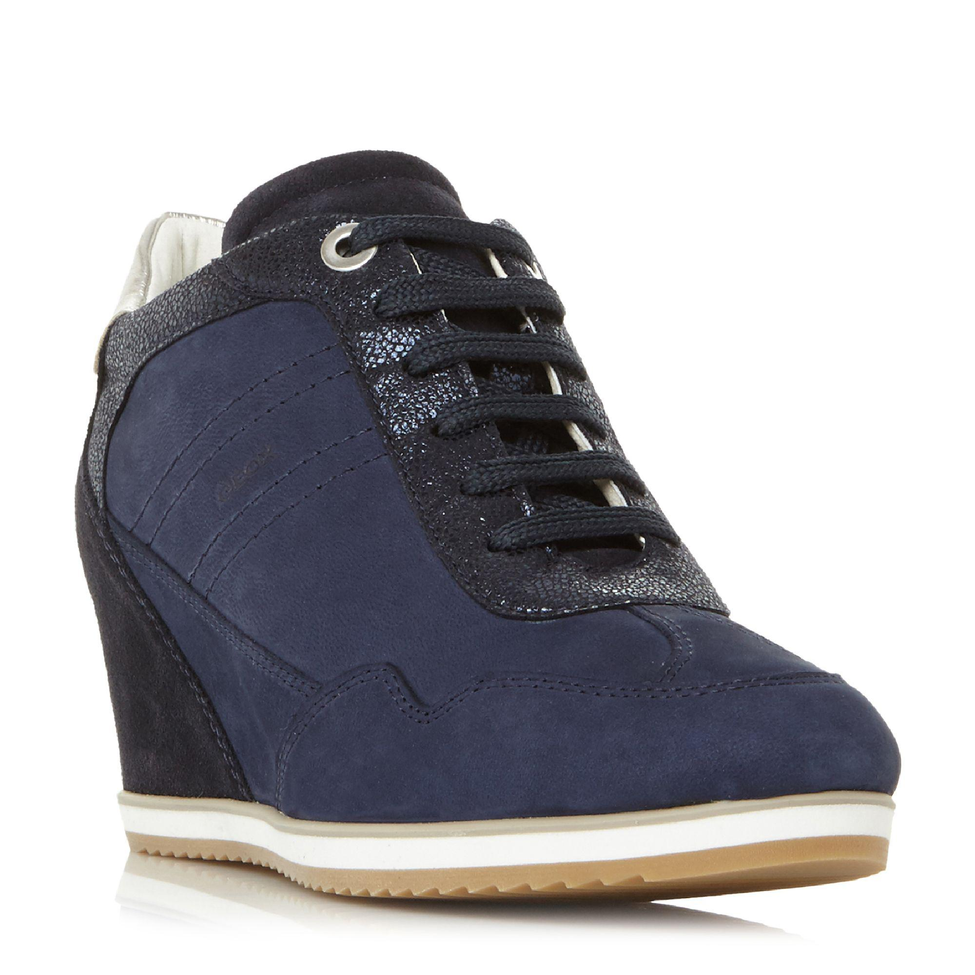 Womens D Illusion B Trainers, Navy Geox