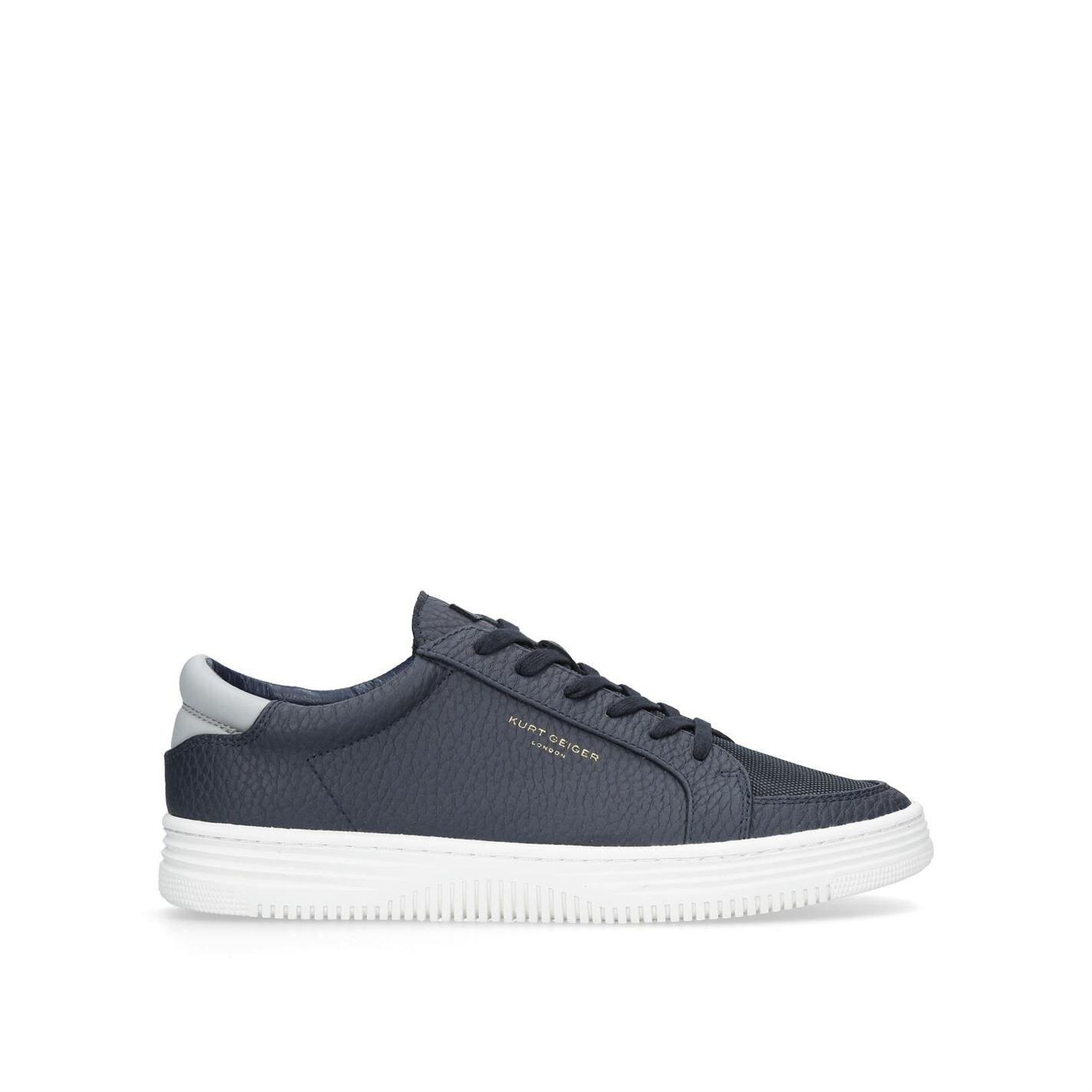 Kurt Geiger Synthetic Valadez Trainers in Navy (Blue) for Men