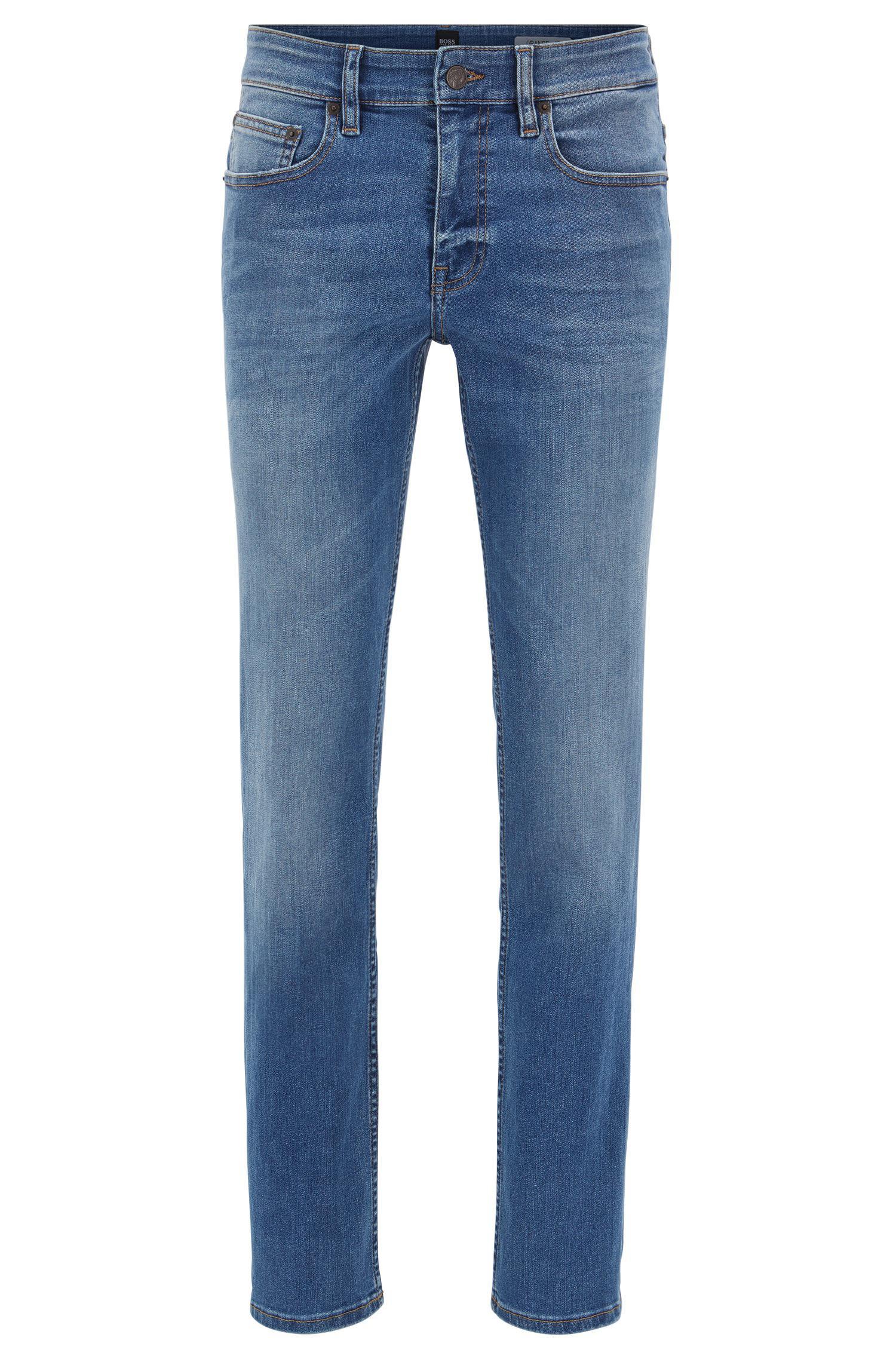 lyst boss orange slim fit jeans in super stretch mid. Black Bedroom Furniture Sets. Home Design Ideas