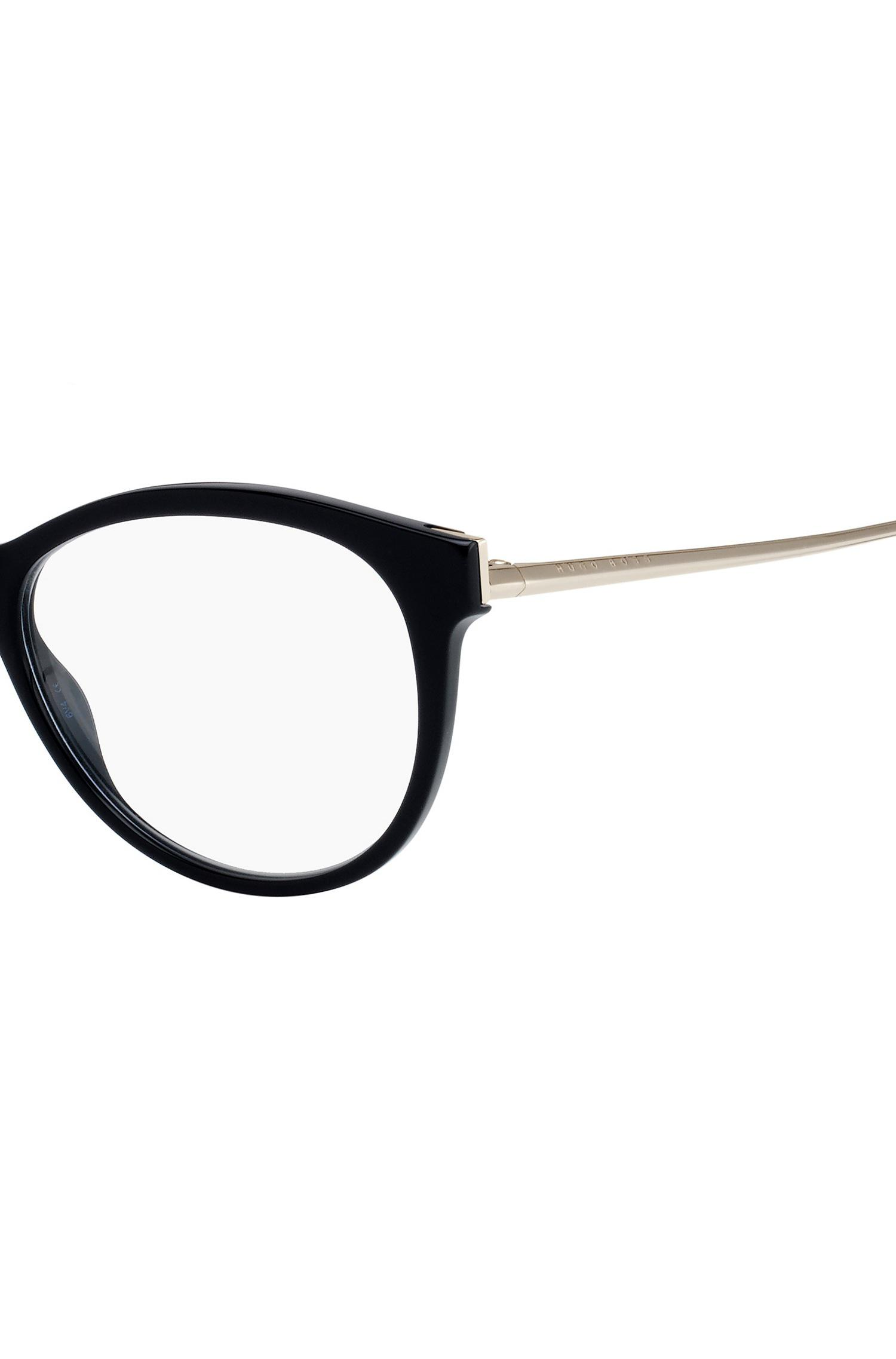 Lyst - Boss Black Acetate Cat-eye Optical Frames | 0894 Rhp in Black