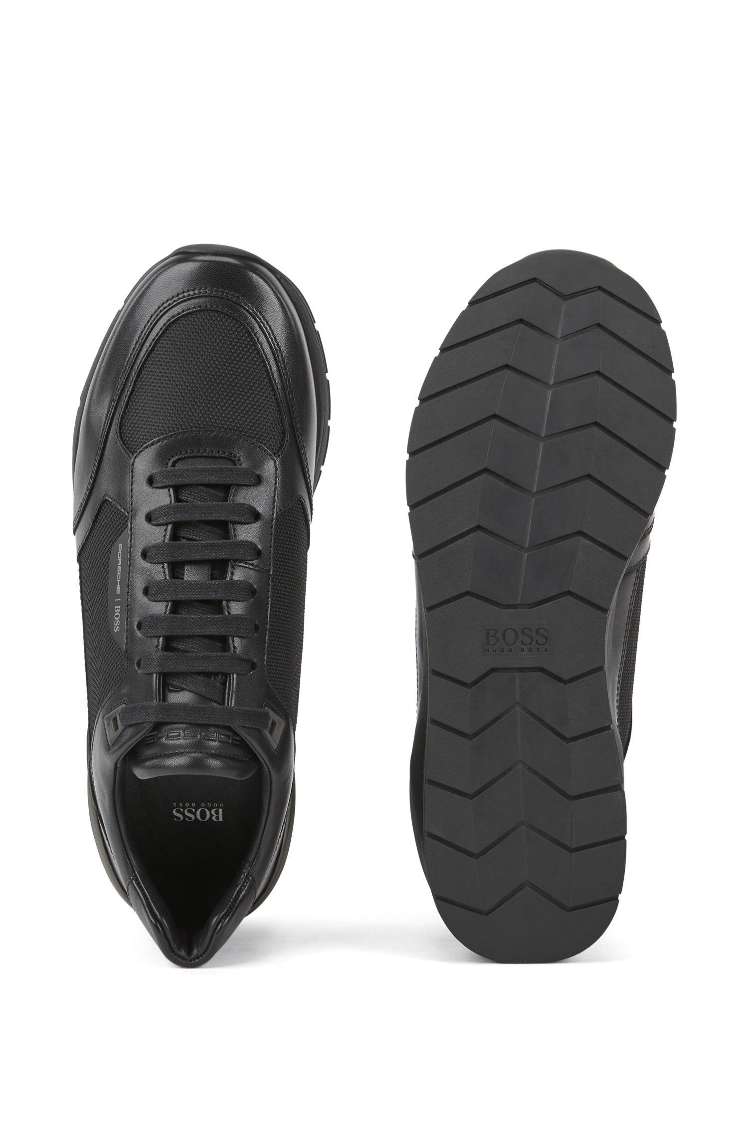 porsche x boss trainers with hybrid uppers