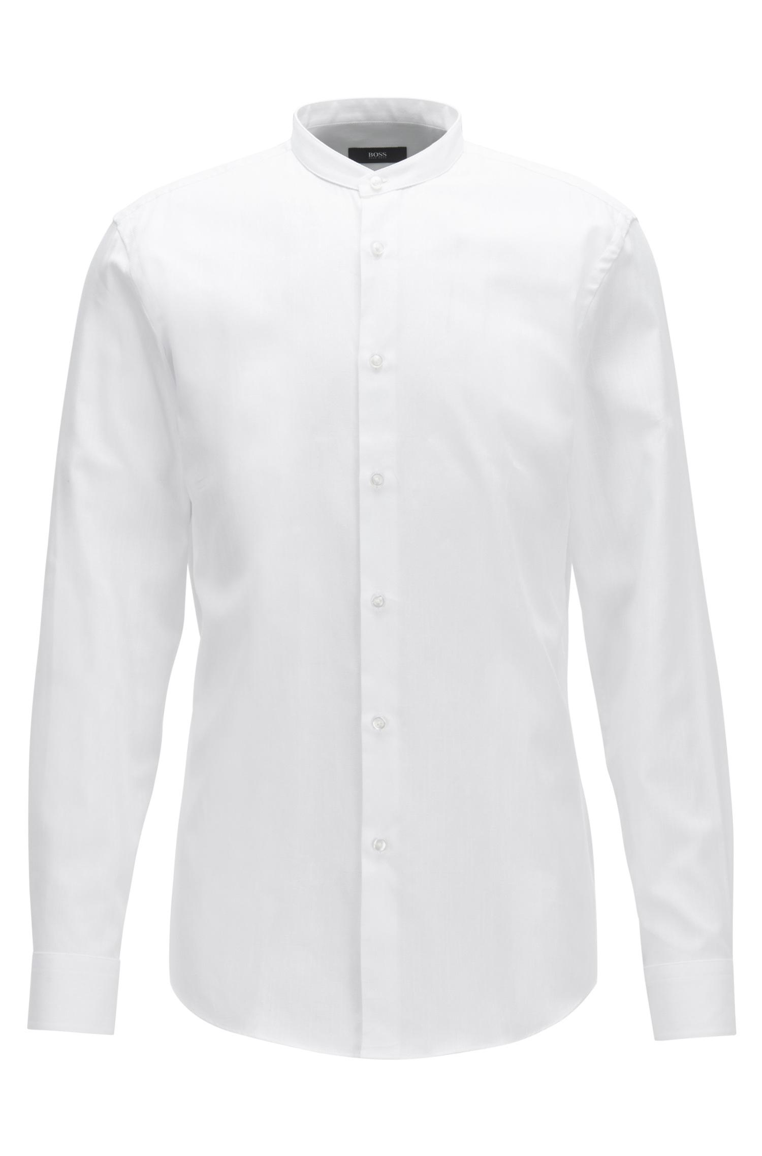 c6405085e BOSS Cotton Dress Shirt, Slim Fit | Jordi in White for Men - Lyst