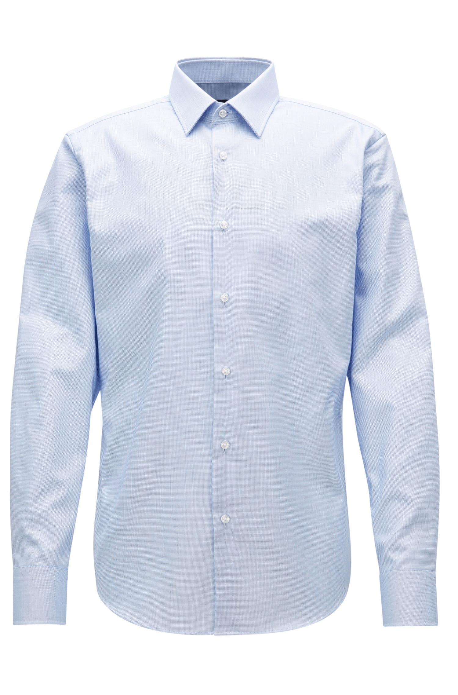 niedriger Preis hohe Qualitätsgarantie klassischer Chic Men's Blue Fresh Active Traveler Dress Shirt, Regular Fit | Enzo